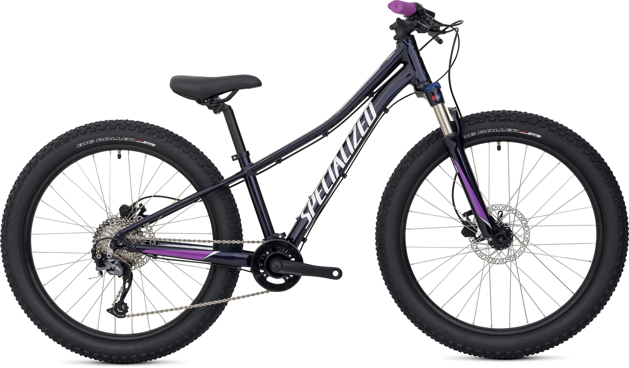 SPECIALIZED RIPROCK COMP 24 INT BLUFLKPUR/FLKSIL/PRLDPFUS 11 - Bike Zone