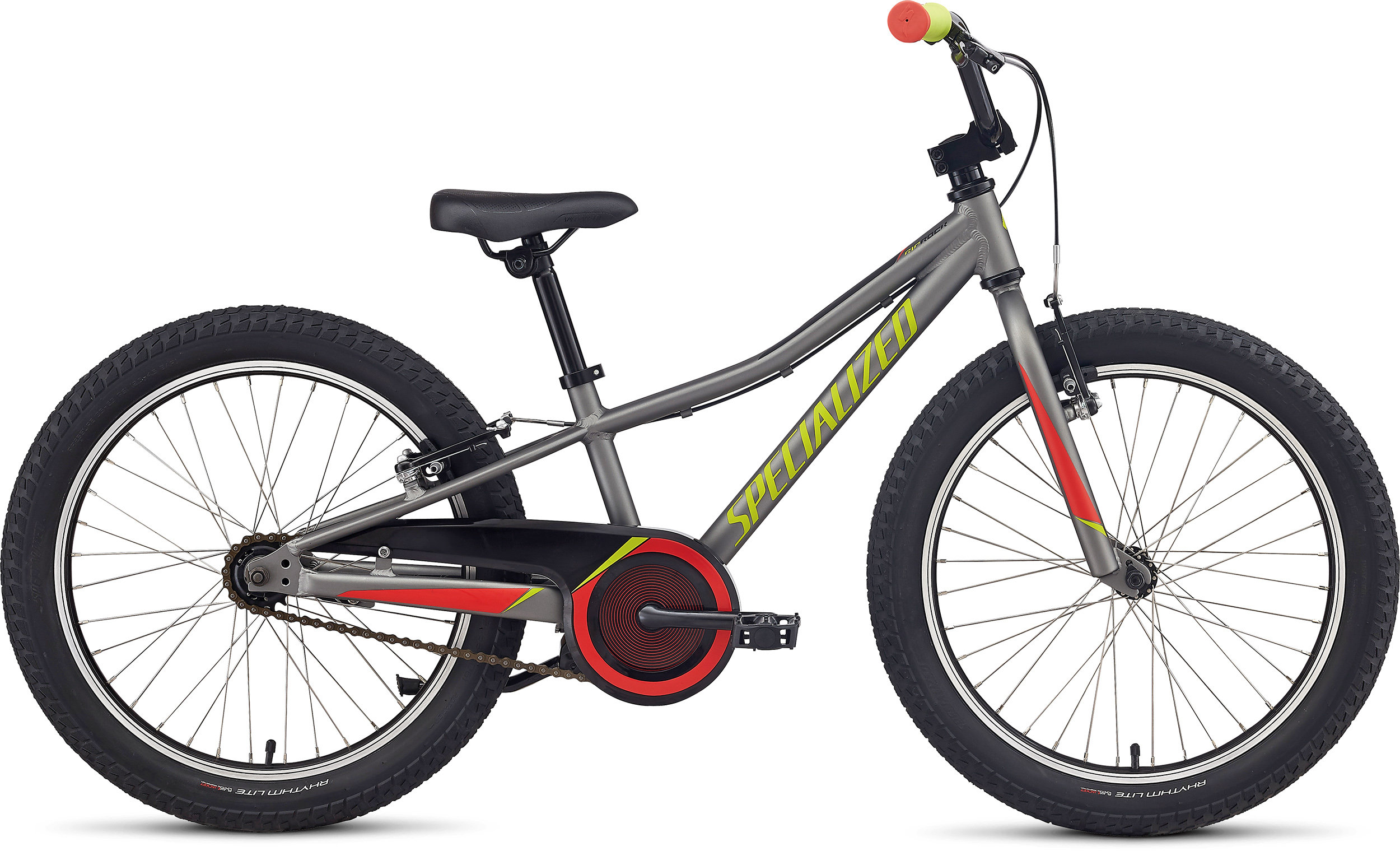 Specialized Riprock Coaster 20 Gloss Sterling Grayl/Nordic Red/Hyper Green 9 - Alpha Bikes
