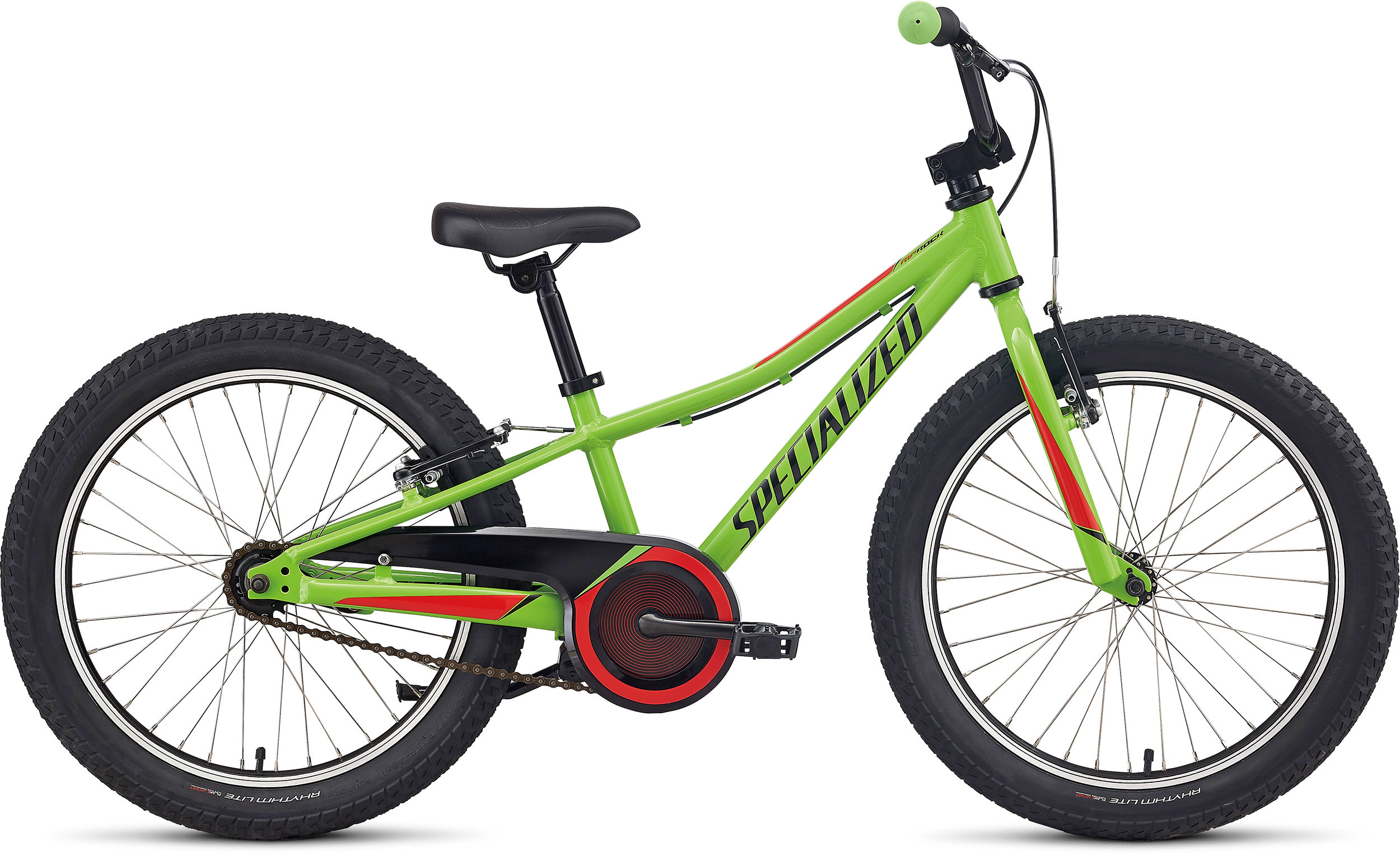 Specialized Riprock 20 Coaster Gloss Monster Green/Nordic Red/Black 9 - Pulsschlag Bike+Sport
