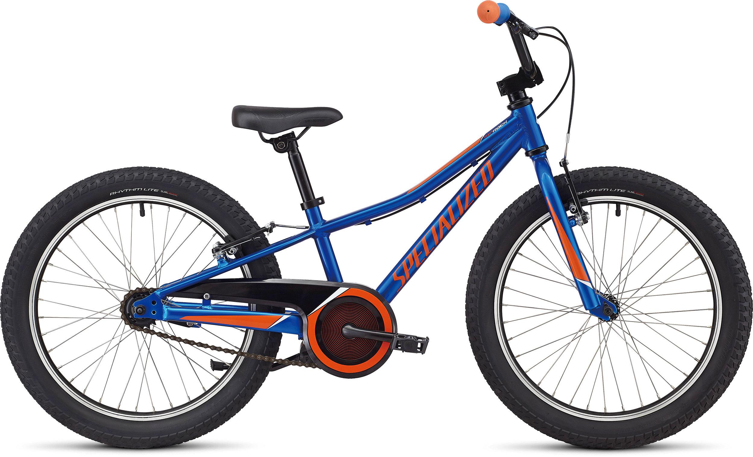 Specialized Riprock Coaster 20 Gloss Royal Blue/Moto Orange/White 9 - Alpha Bikes