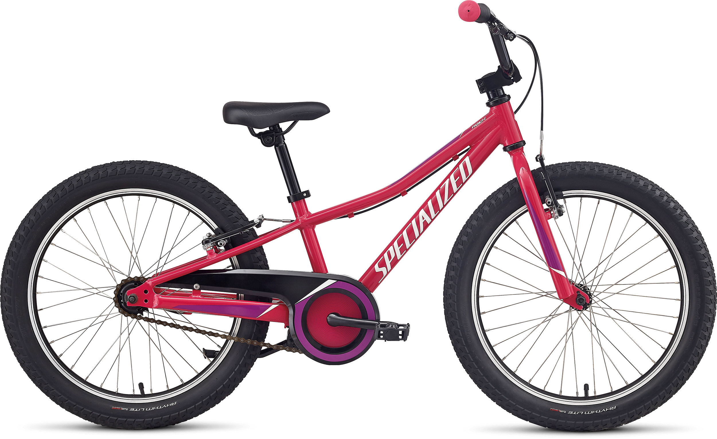 Specialized Riprock 20 Coaster Gloss Rainbow Flake Pink/Deep Fuchsia/Metallic White Silver 9 - Pulsschlag Bike+Sport