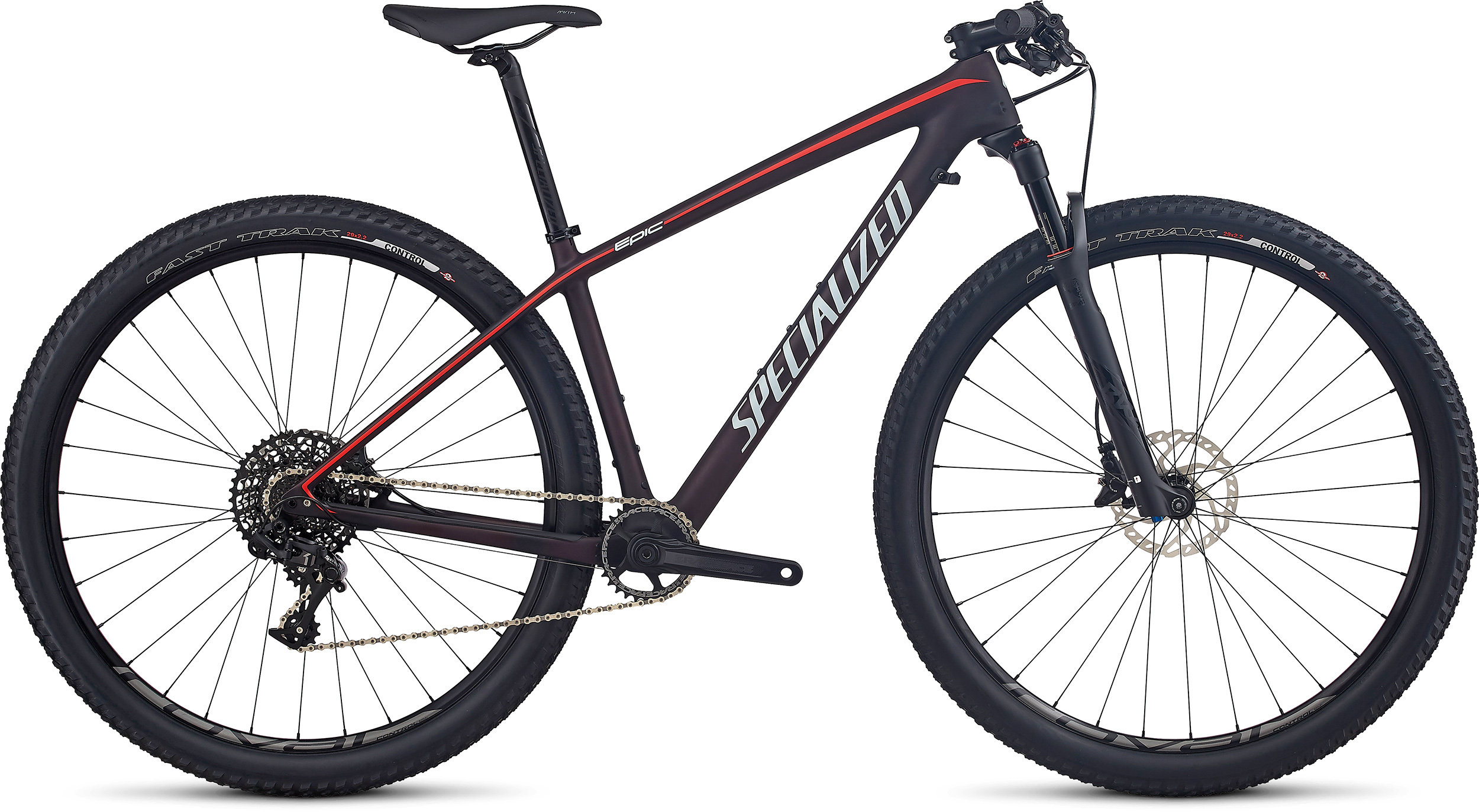 SPECIALIZED EPIC HT WMN EXPERT CARBON WC 29 REDFLKTNT/NRDCRED/BBYBLU M - Alpha Bikes