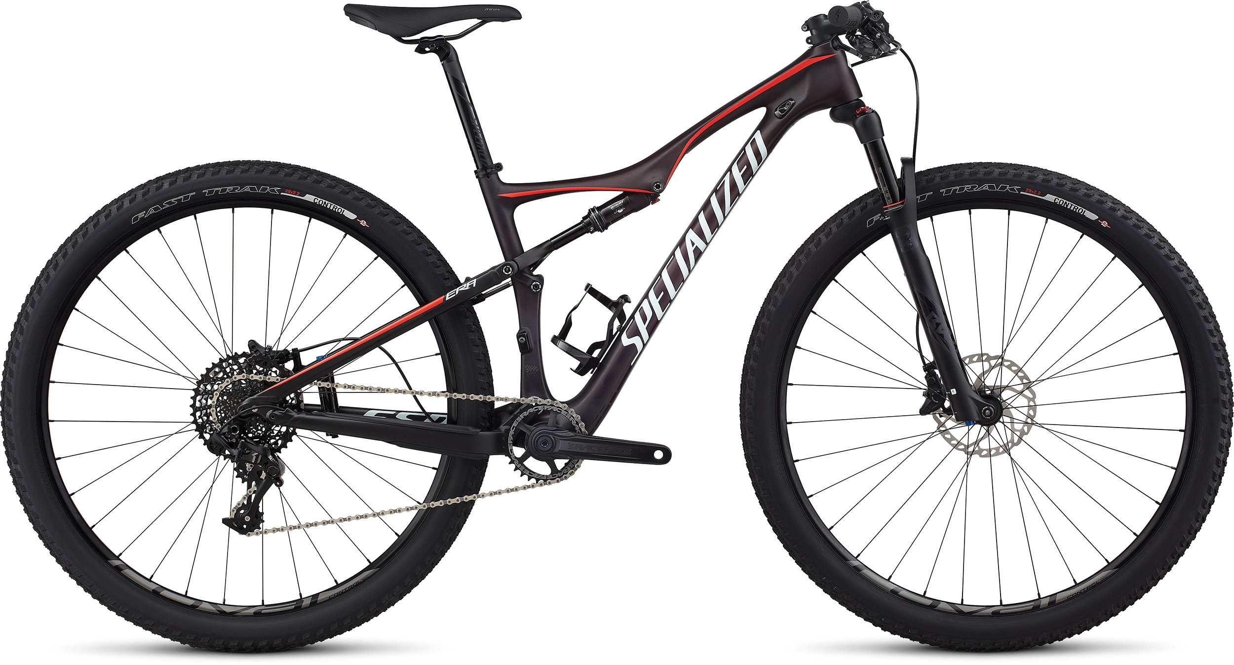 SPECIALIZED ERA FSR EXPERT CARBON WC 29 REDFLKTNT/NRDCRED/BBYBLU S - Bikedreams & Dustbikes