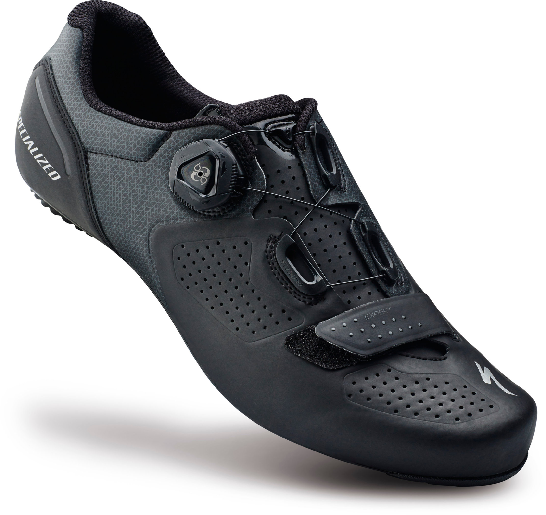 SPECIALIZED EXPERT RD SHOE BLK 38/5.75 - Alpha Bikes