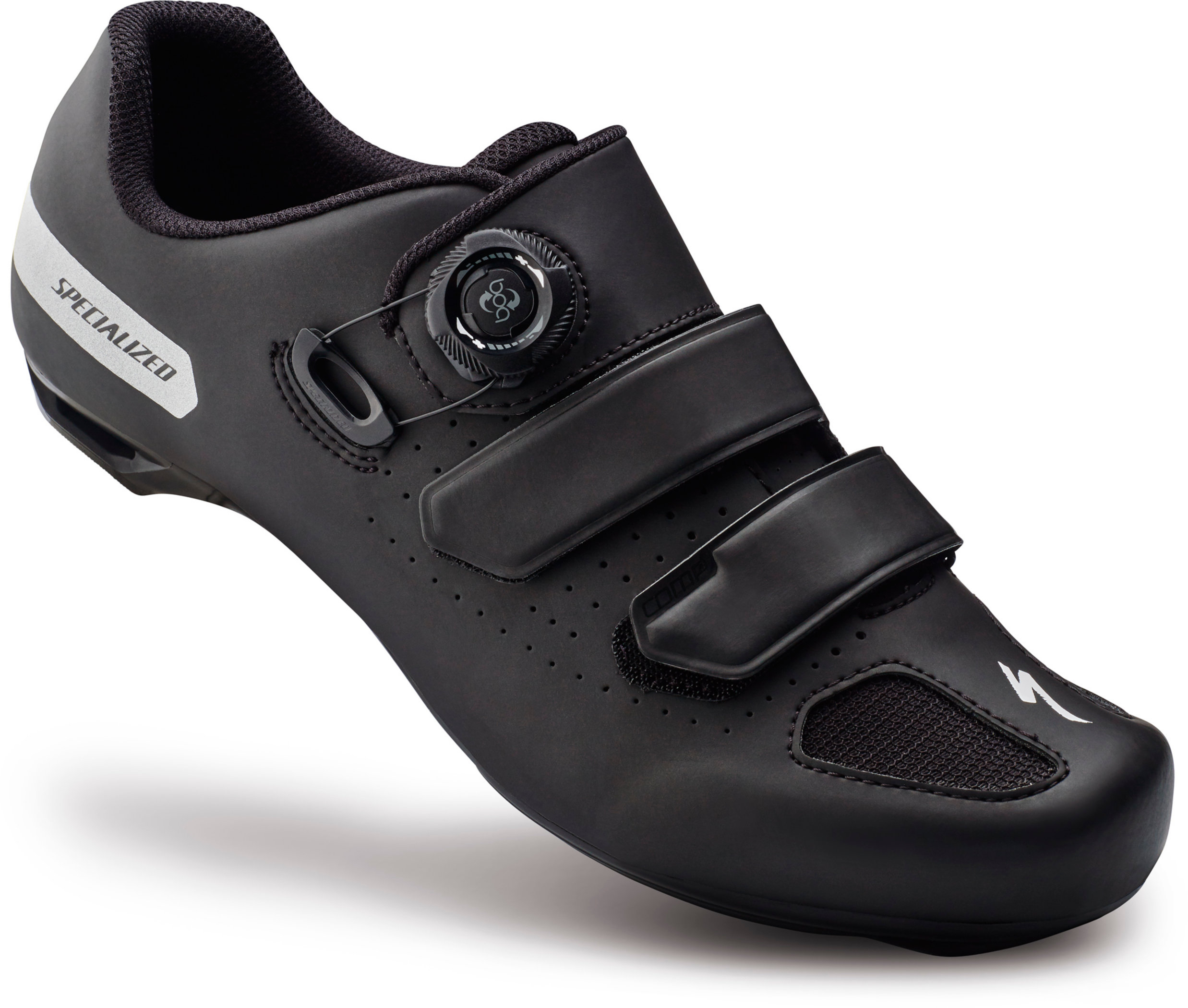 SPECIALIZED COMP RD SHOE BLK 40/7.5 - Alpha Bikes