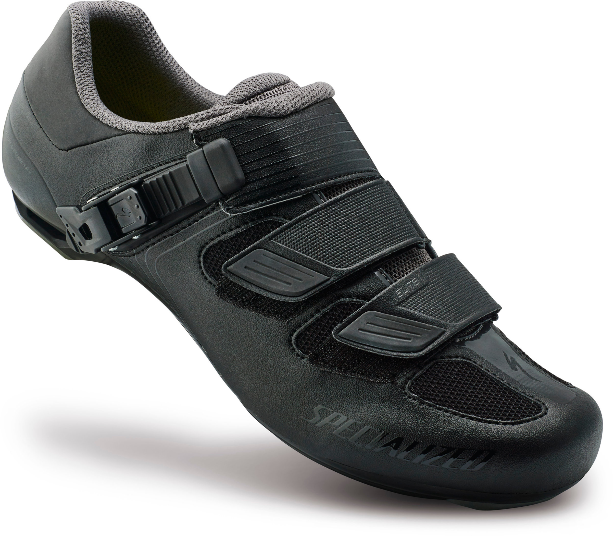SPECIALIZED ELITE RD SHOE BLK 38/5.75 - SPECIALIZED ELITE RD SHOE BLK 38/5.75