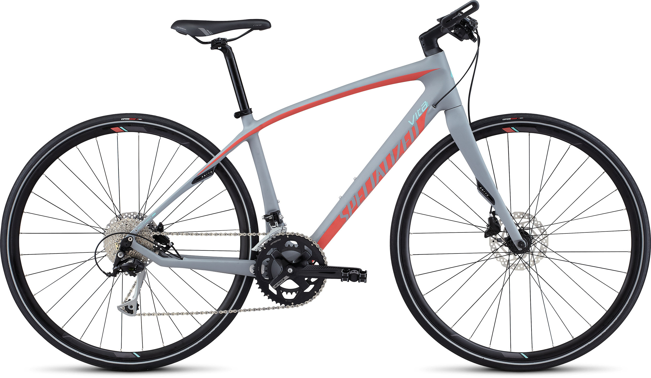 SPECIALIZED VITA SPORT CARBON CLGRY/CRL/LTTUR L - Bike Zone