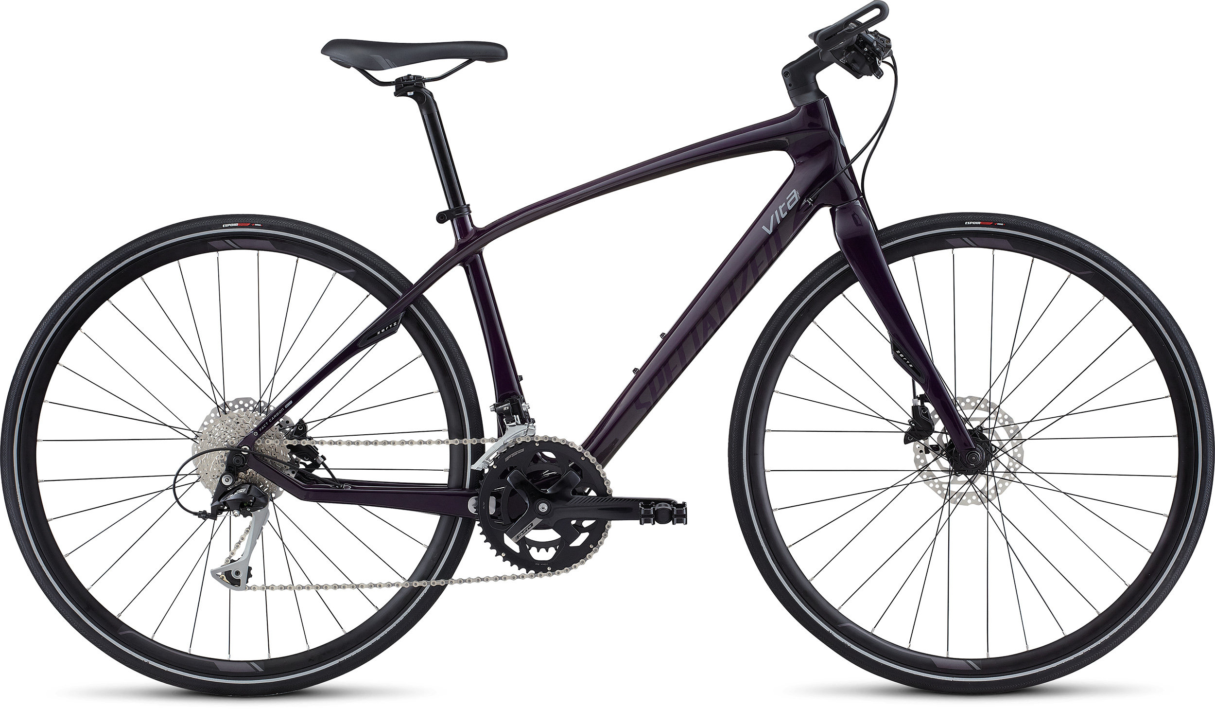 SPECIALIZED VITA SPORT CARBON BLKBRYTNT/WRMCHAR/CLGRY L - Bike Zone