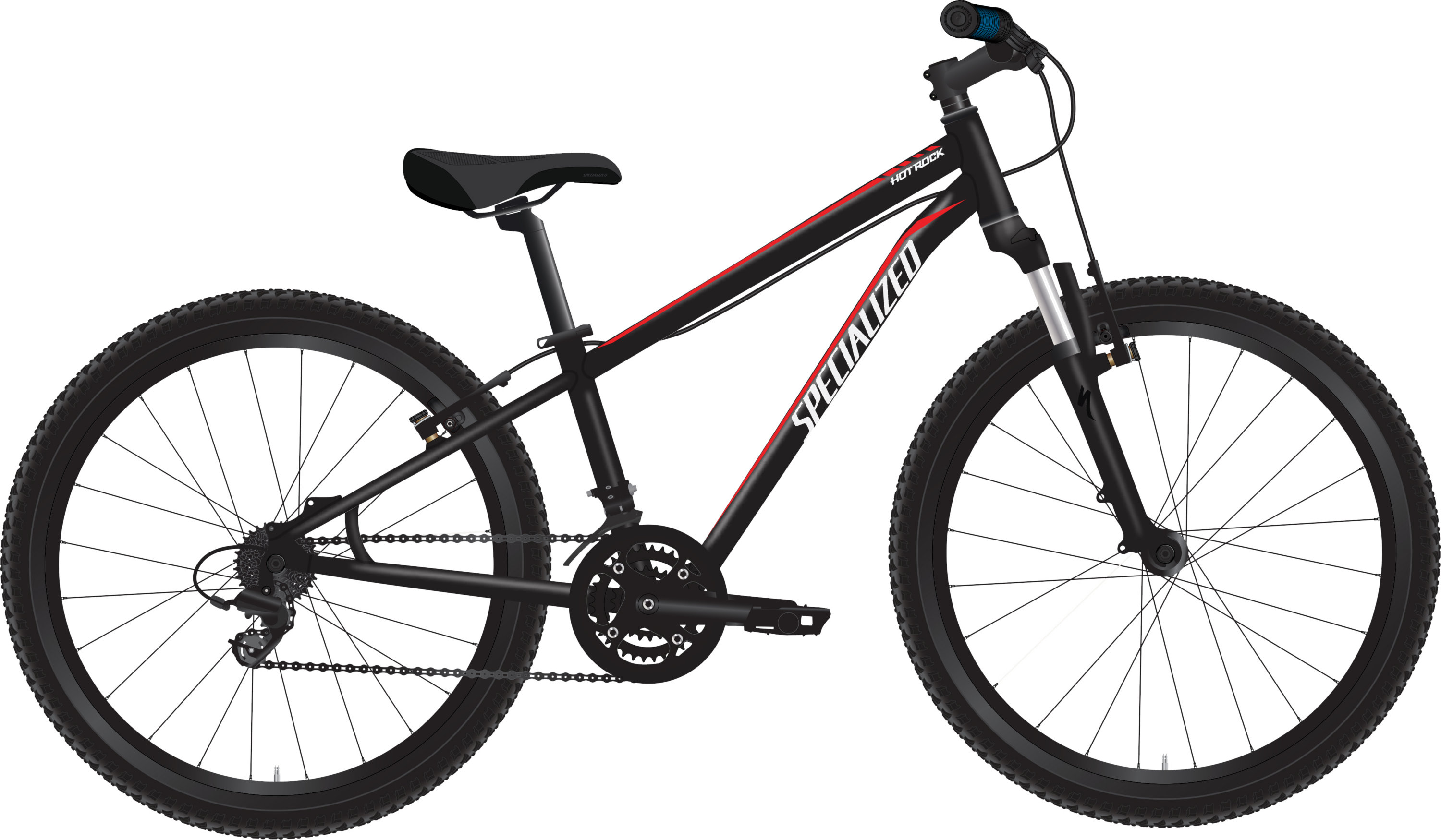 Specialized Boy´s Hotrock 24 XC Black/Red/White 11 - Pulsschlag Bike+Sport