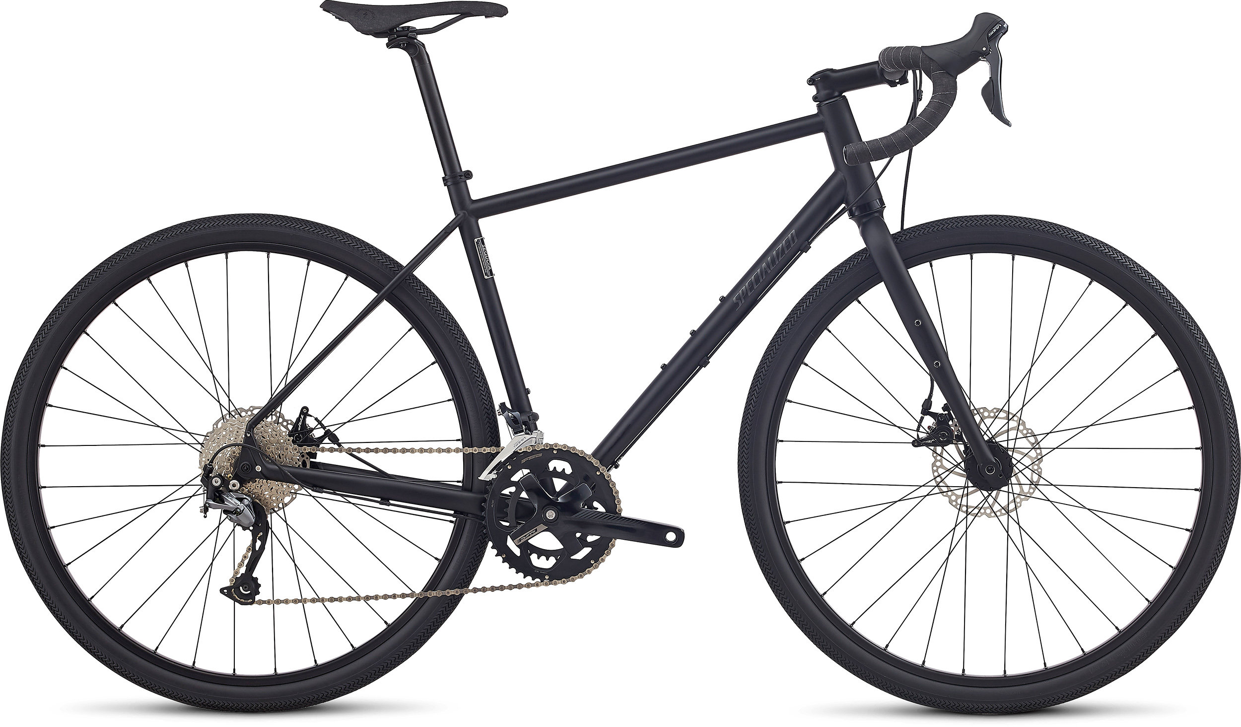 SPECIALIZED SEQUOIA BLK/GRPH 50 - Bike Maniac