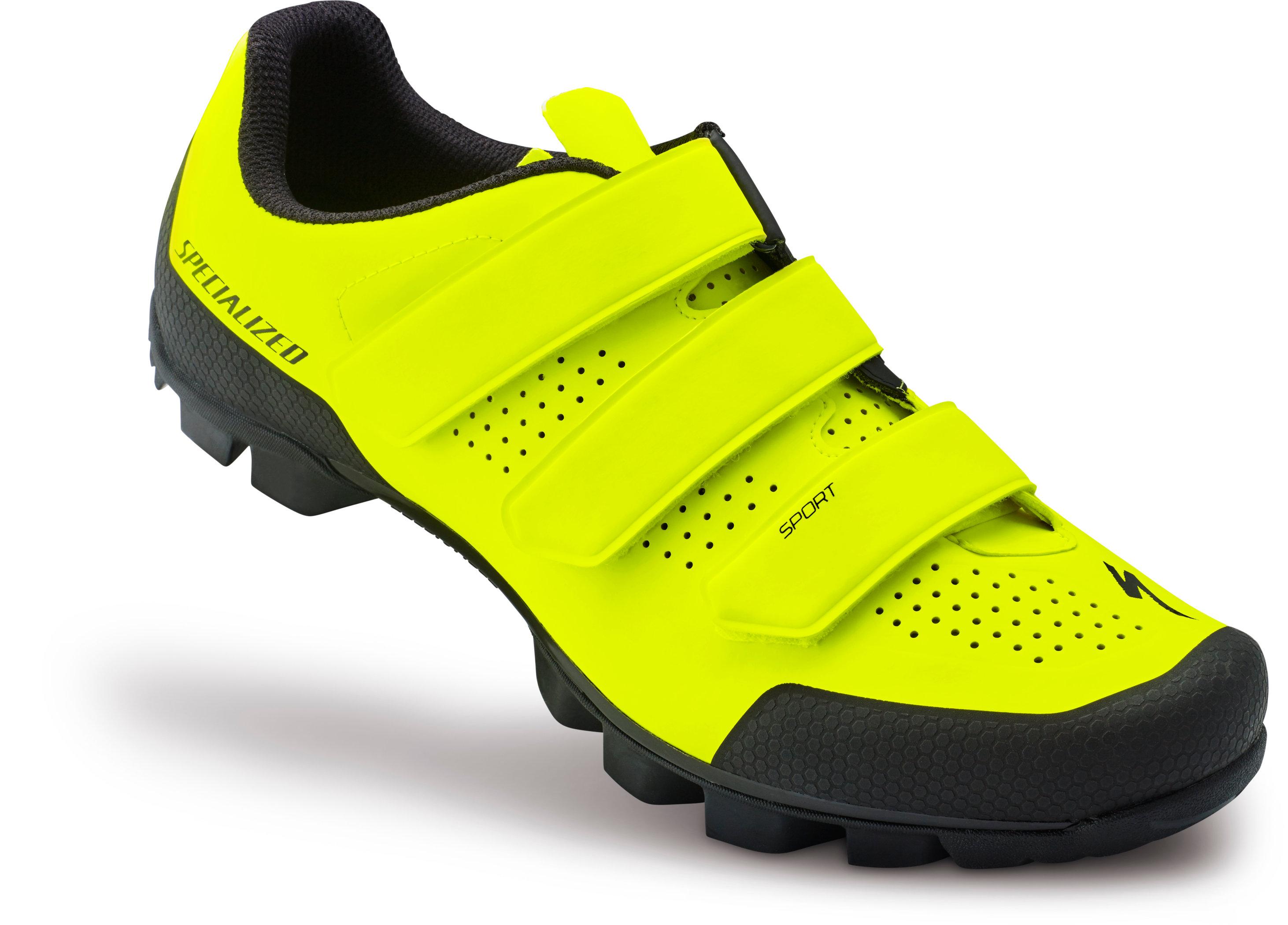 Specialized Sport MTB Neon Yellow 44/10.6 - Alpha Bikes