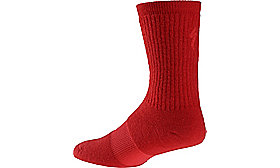 WINTER WOOL SOCK RED