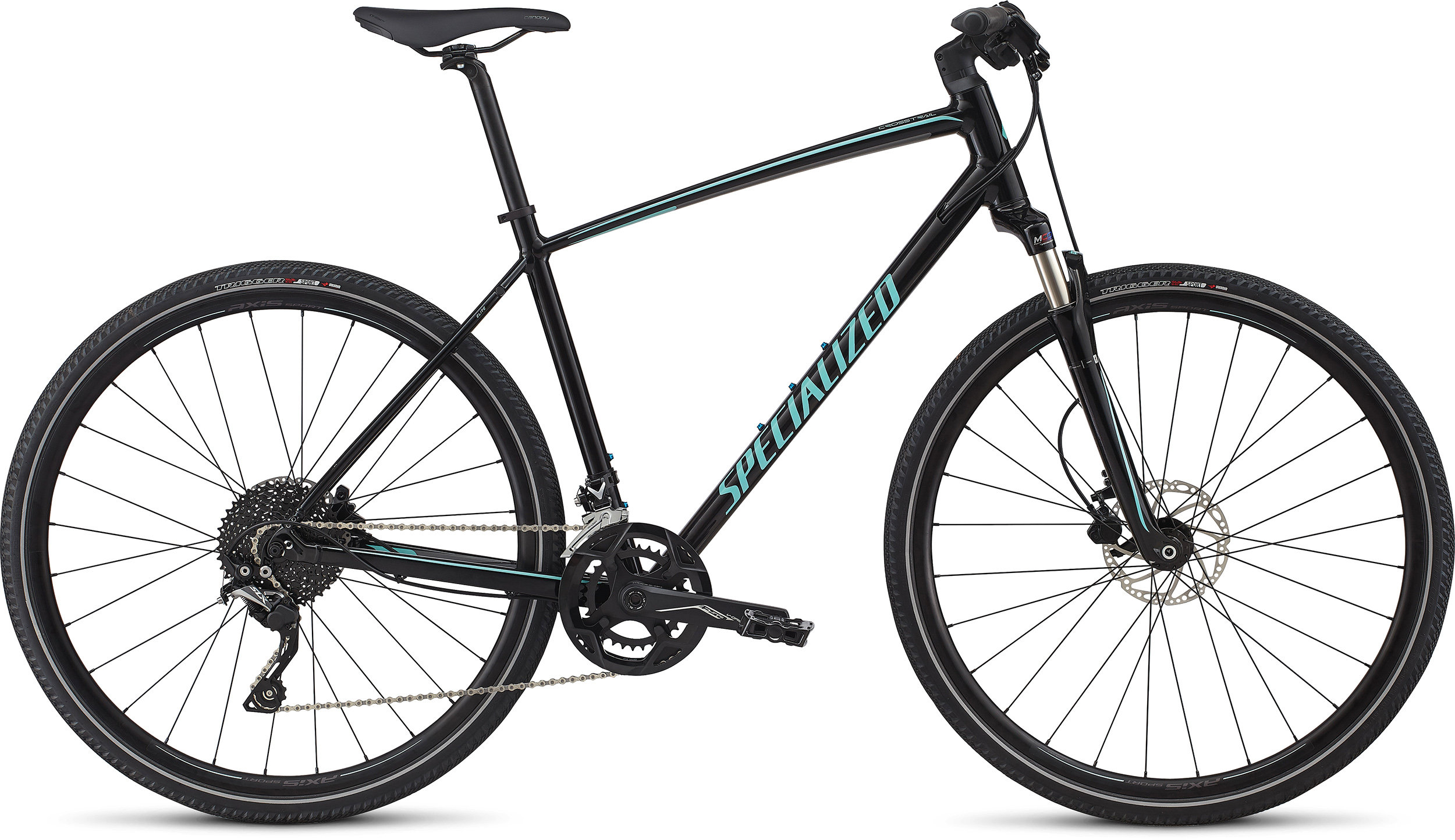 SPECIALIZED CT ELITE INT TARBLK/CHAR/LTTUR L - Alpha Bikes