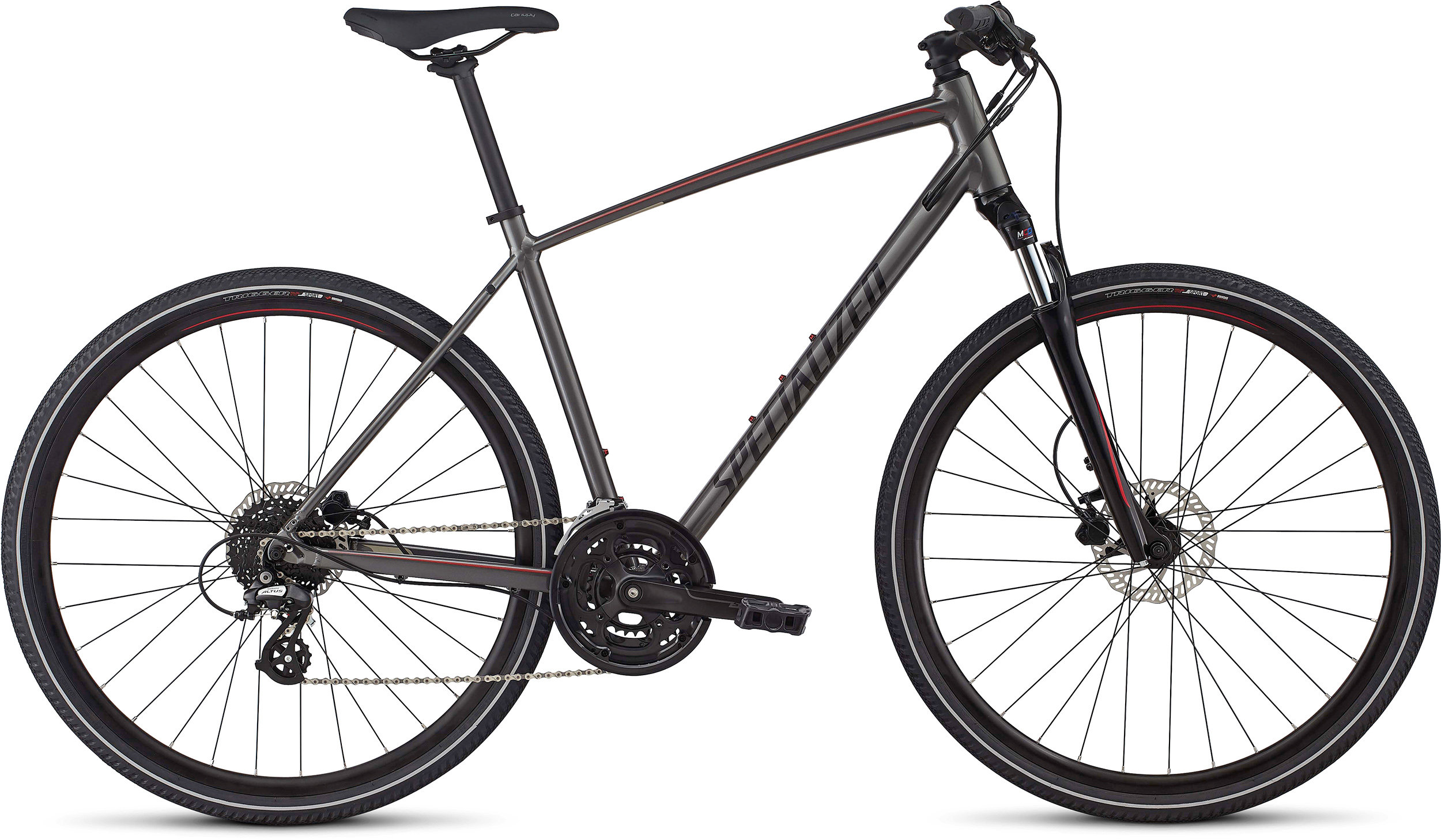 SPECIALIZED CT DISC INT CHAR/CNDYRED/TI L - Alpha Bikes