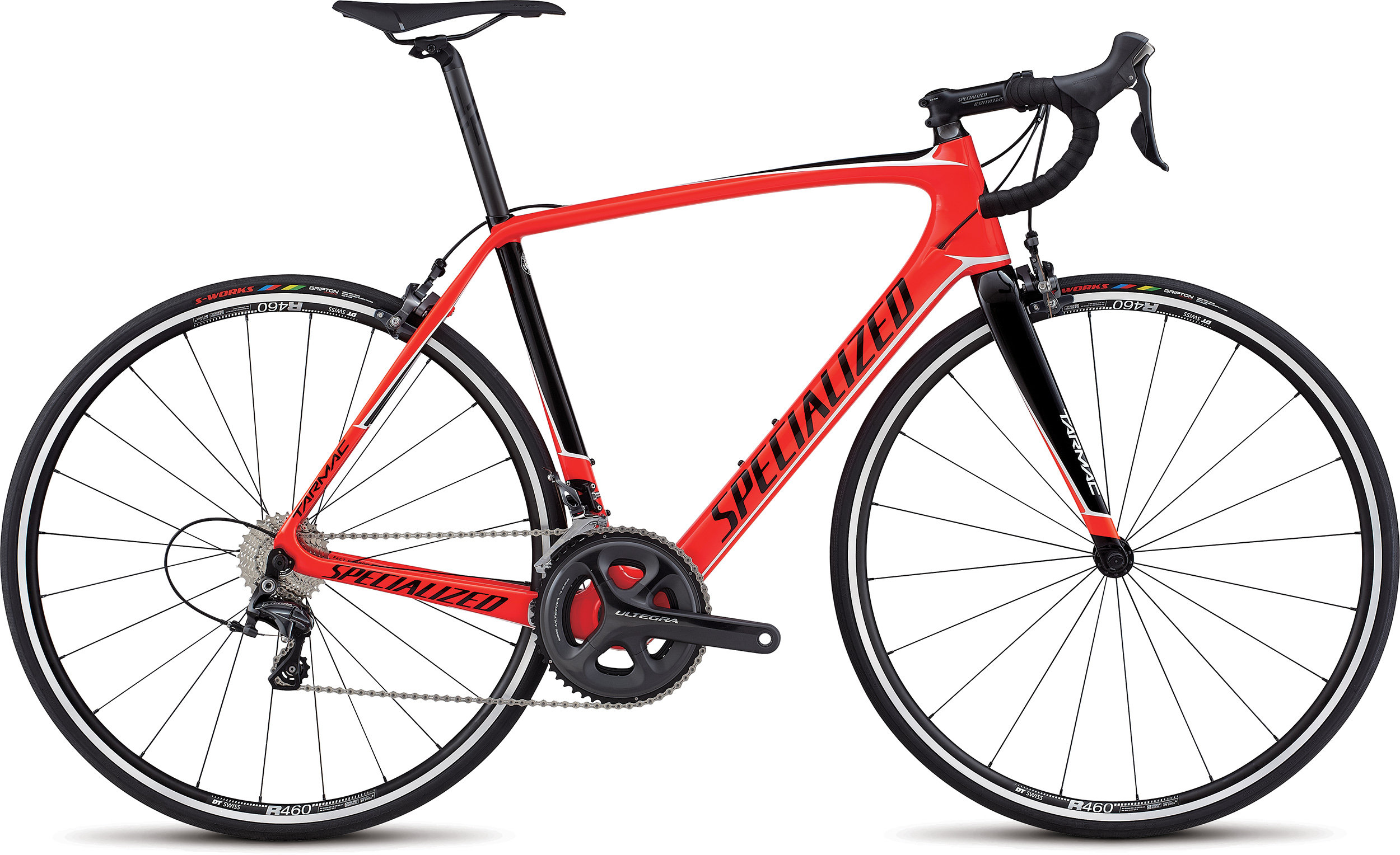 SPECIALIZED TARMAC COMP RKTRED/TARBLK 52 - Pulsschlag Bike+Sport