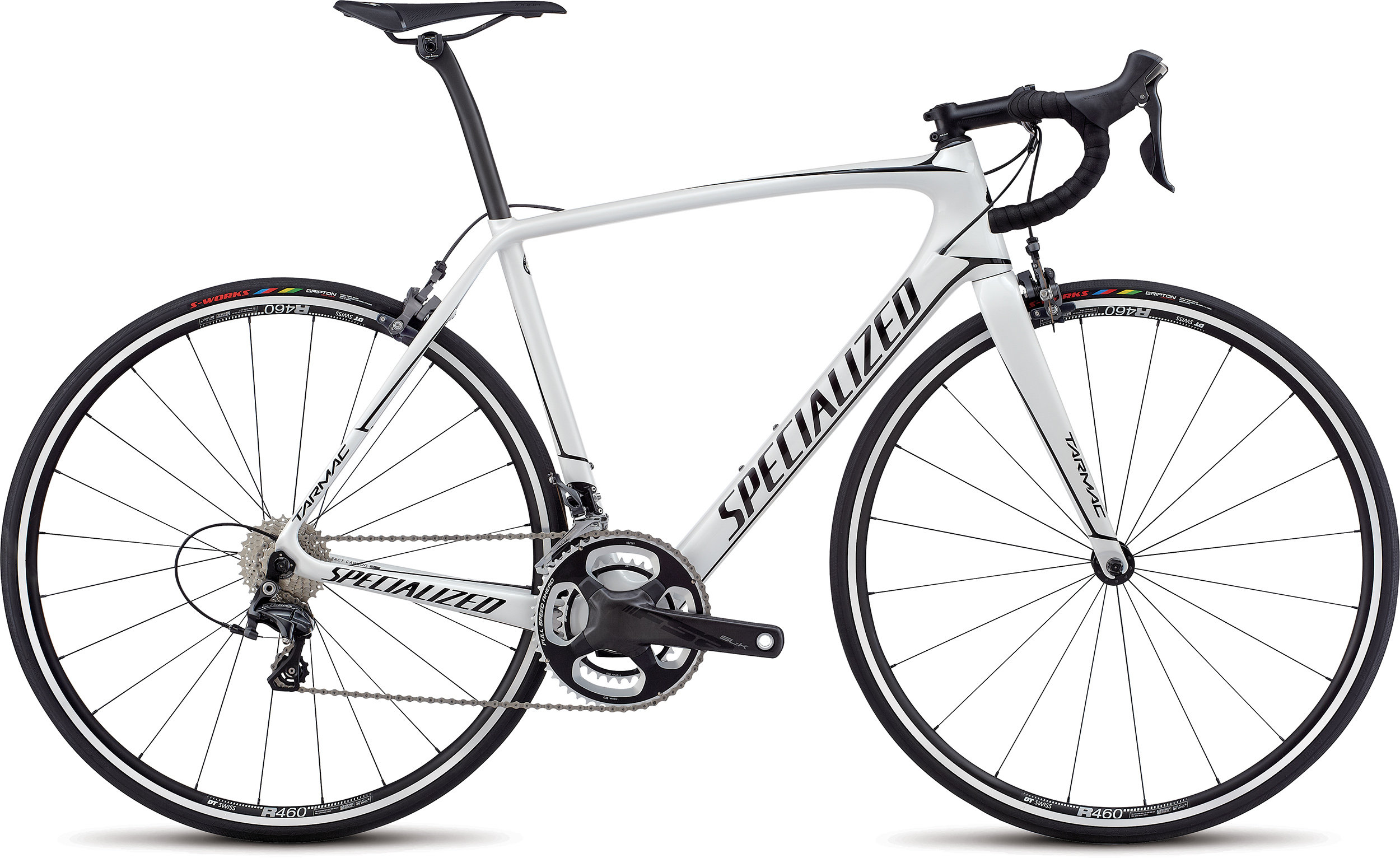 Specialized Tarmac Expert GLOSS METALLIC WHITE / TARMAC BLACK 54 - Specialized Tarmac Expert GLOSS METALLIC WHITE / TARMAC BLACK 54