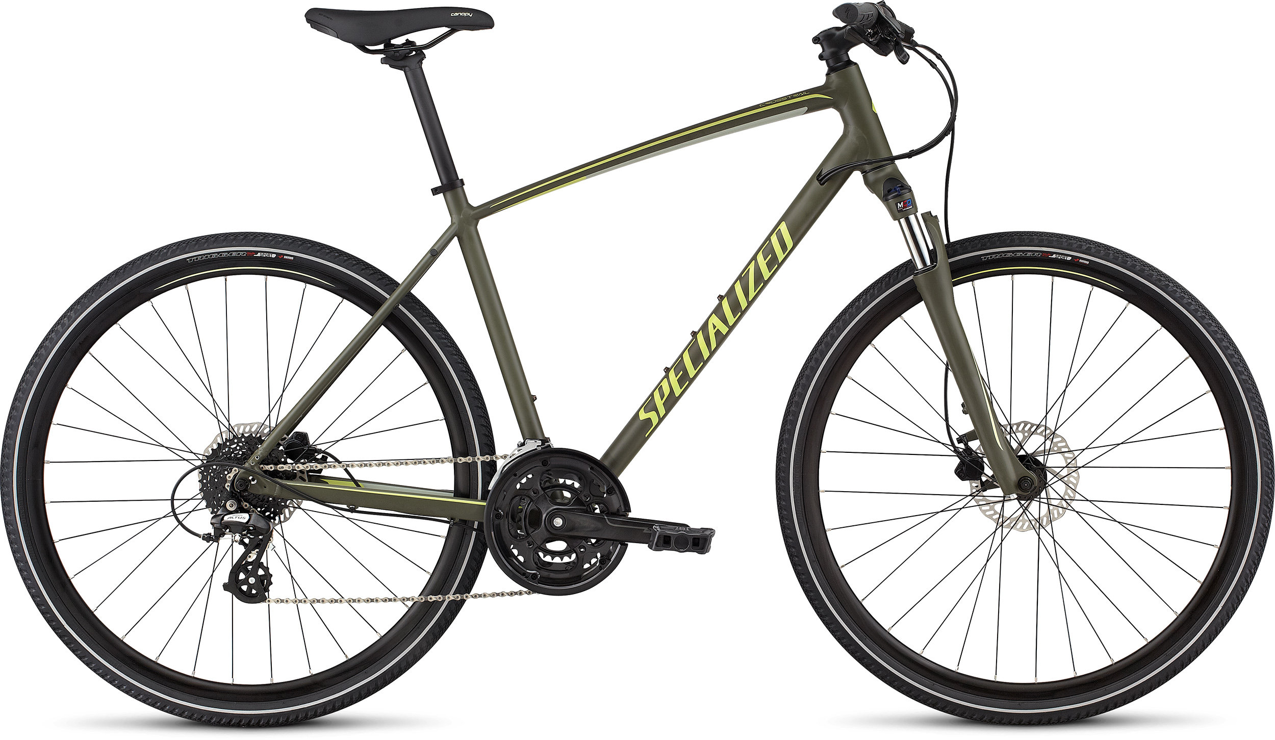 SPECIALIZED CT DISC INT OAKGRN/SPR/PDRGRN L - Alpha Bikes
