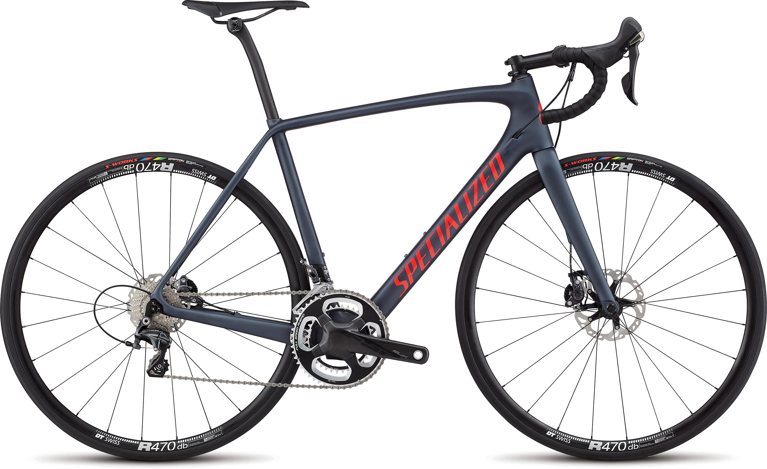 SPECIALIZED TARMAC EXPERT DISC INK/NRDCRED 52 - Pulsschlag Bike+Sport
