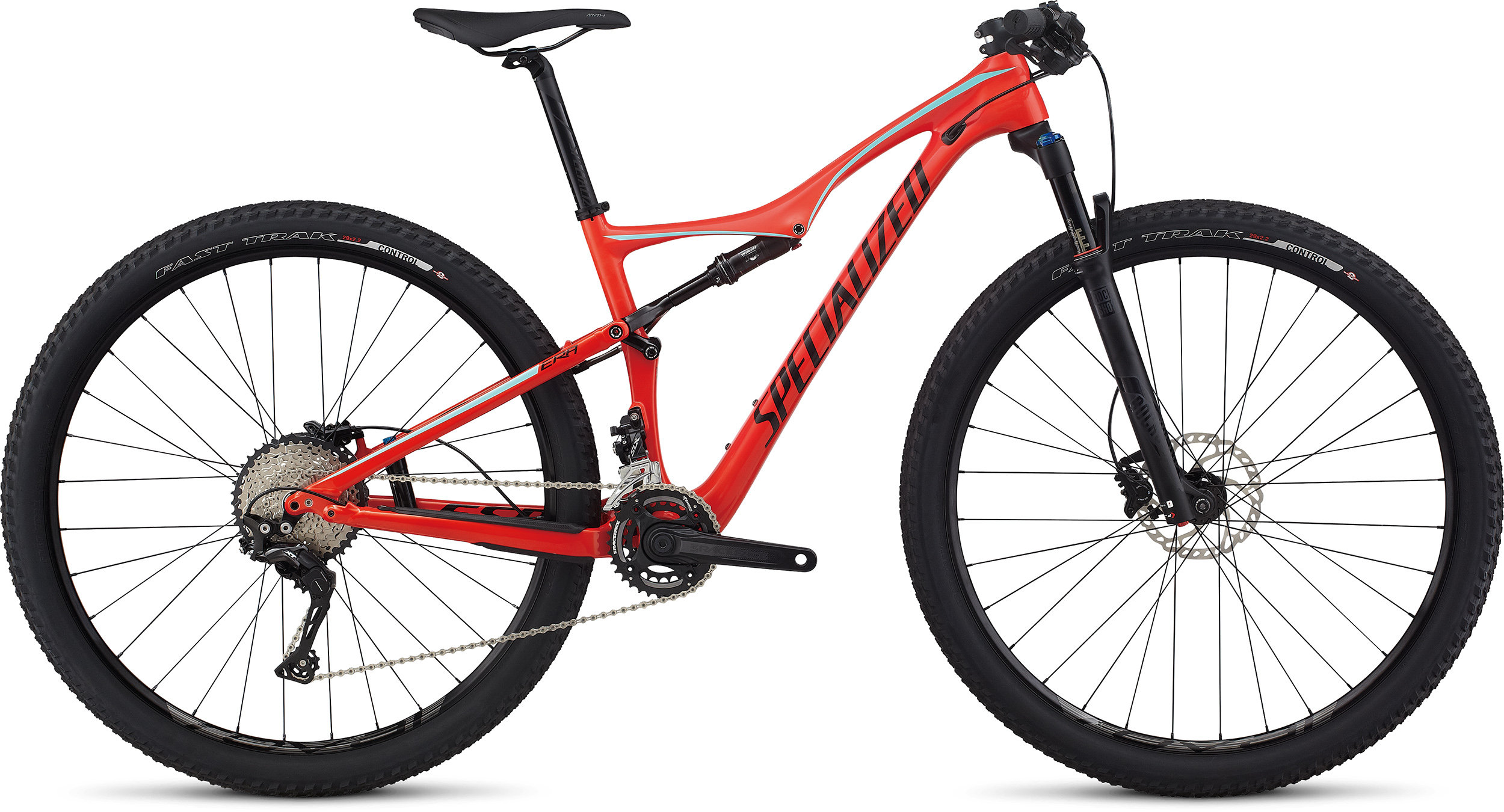 SPECIALIZED ERA FSR COMP CARBON 29 NRDCRED/LTTUR/TARBLK S - Bikedreams & Dustbikes