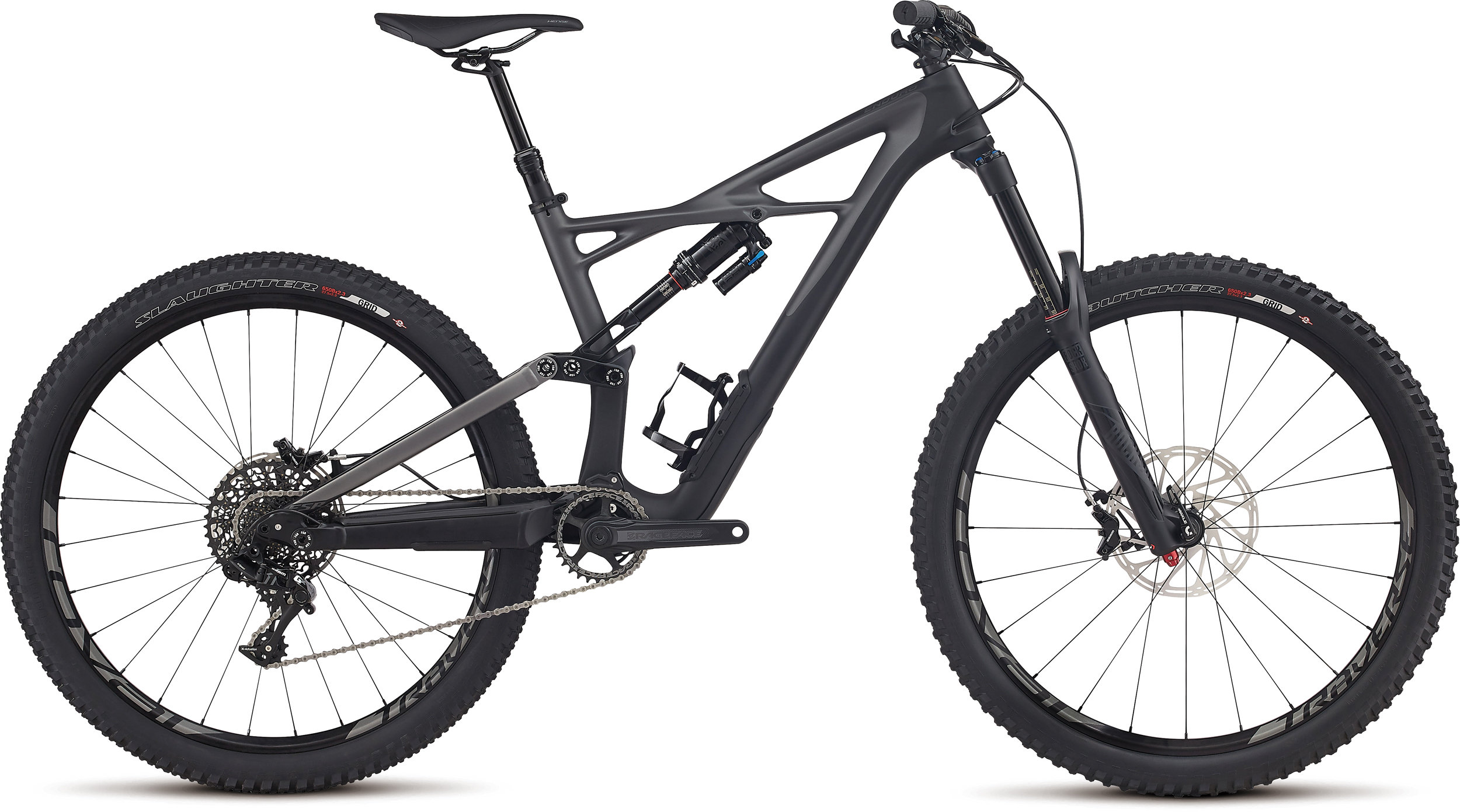 SPECIALIZED ENDURO FSR ELITE CARBON 650B BLK/CHAR L - Alpha Bikes