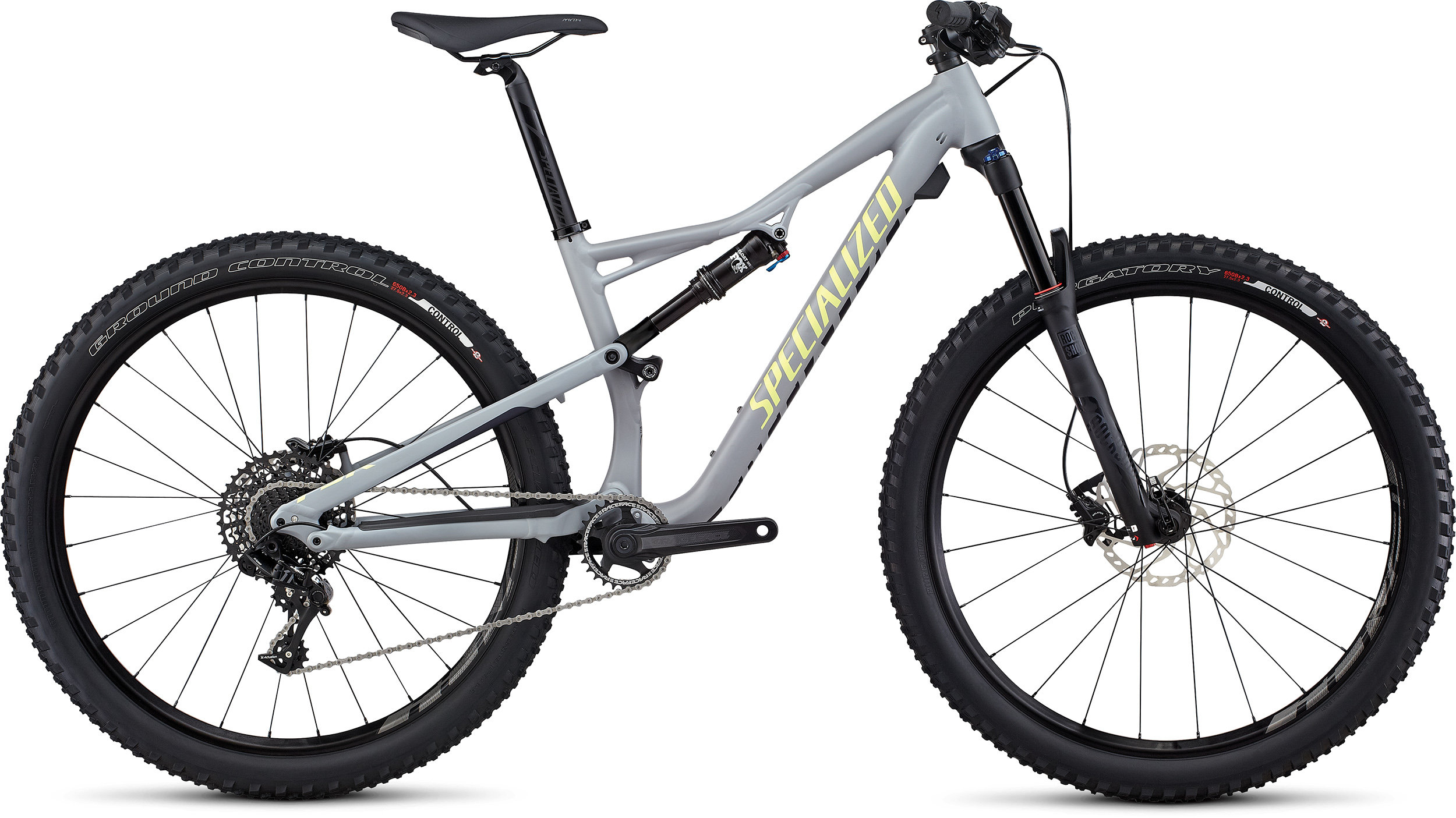 SPECIALIZED CAMBER WMN FSR COMP 650B CLGRY/DPNDGO/PDRGRN L - Alpha Bikes