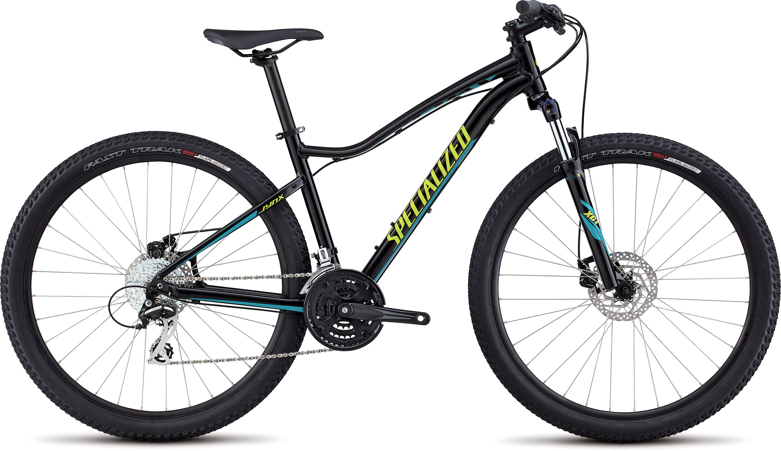 SPECIALIZED JYNX 650B TARBLK/HYP/TUR XS - Bike Maniac