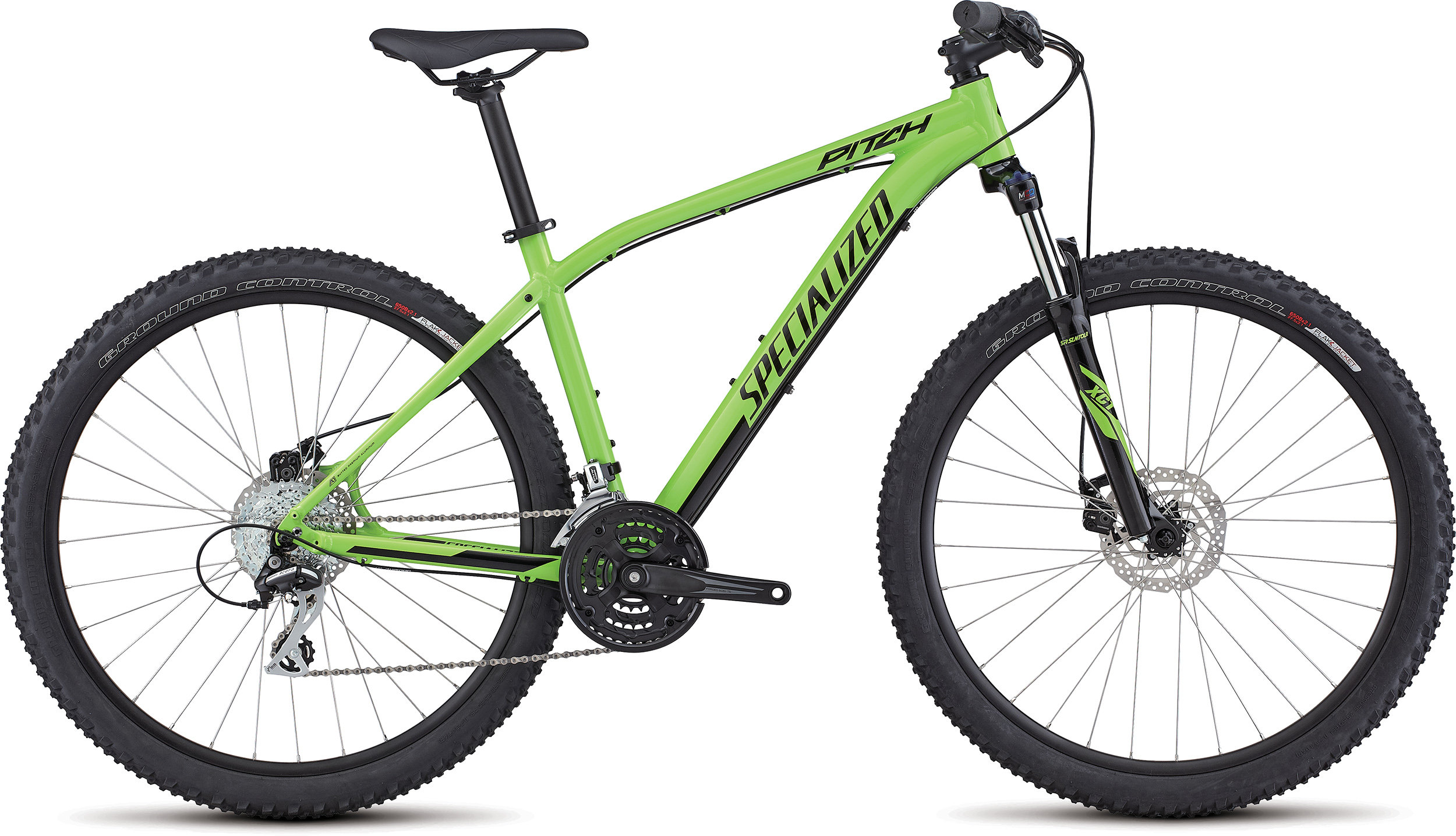 SPECIALIZED PITCH 650B MONGRN/BLK XL - Alpha Bikes