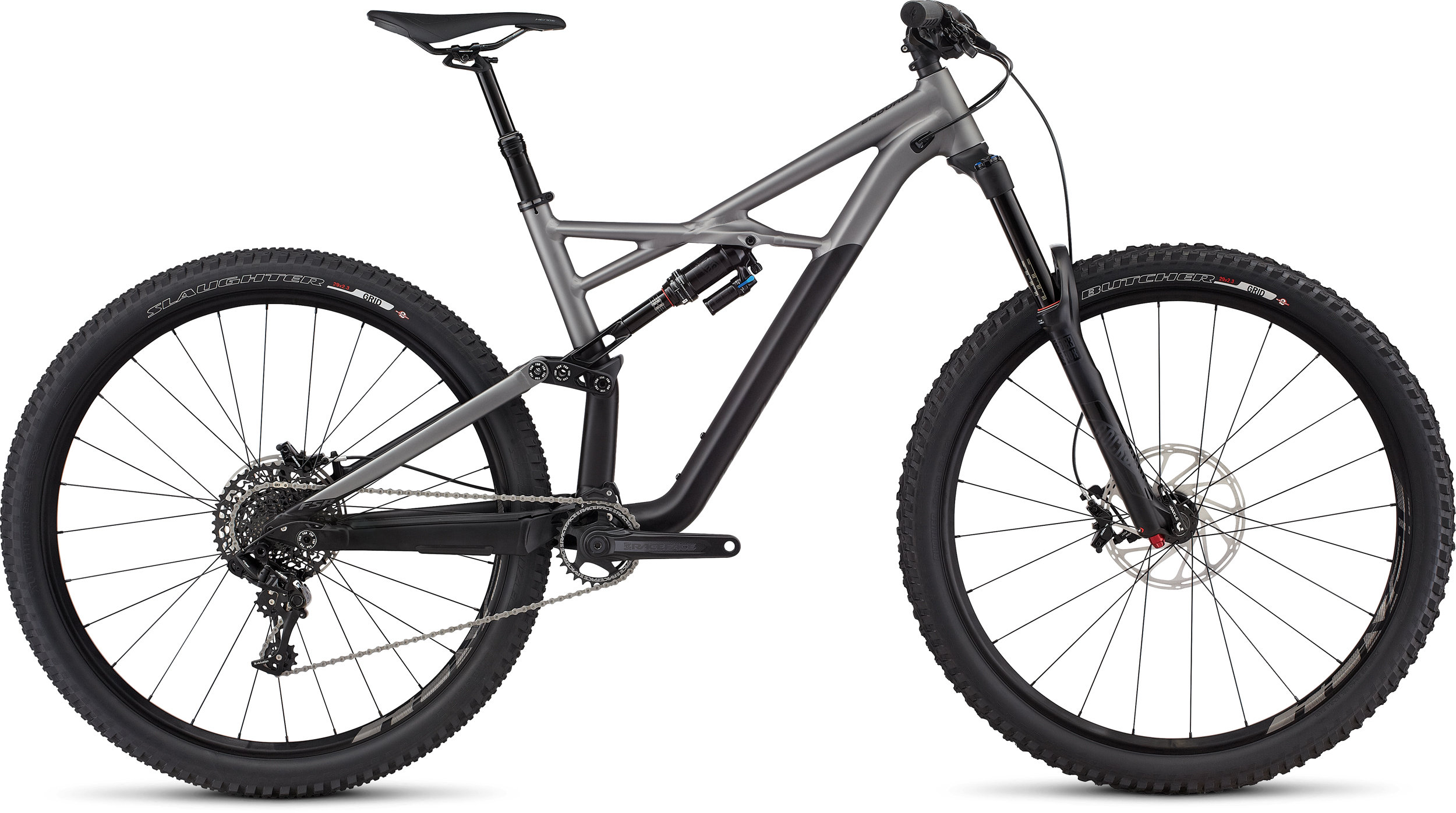 SPECIALIZED ENDURO FSR COMP 29/6FATTIE BLK/CHAR XL - Pulsschlag Bike+Sport