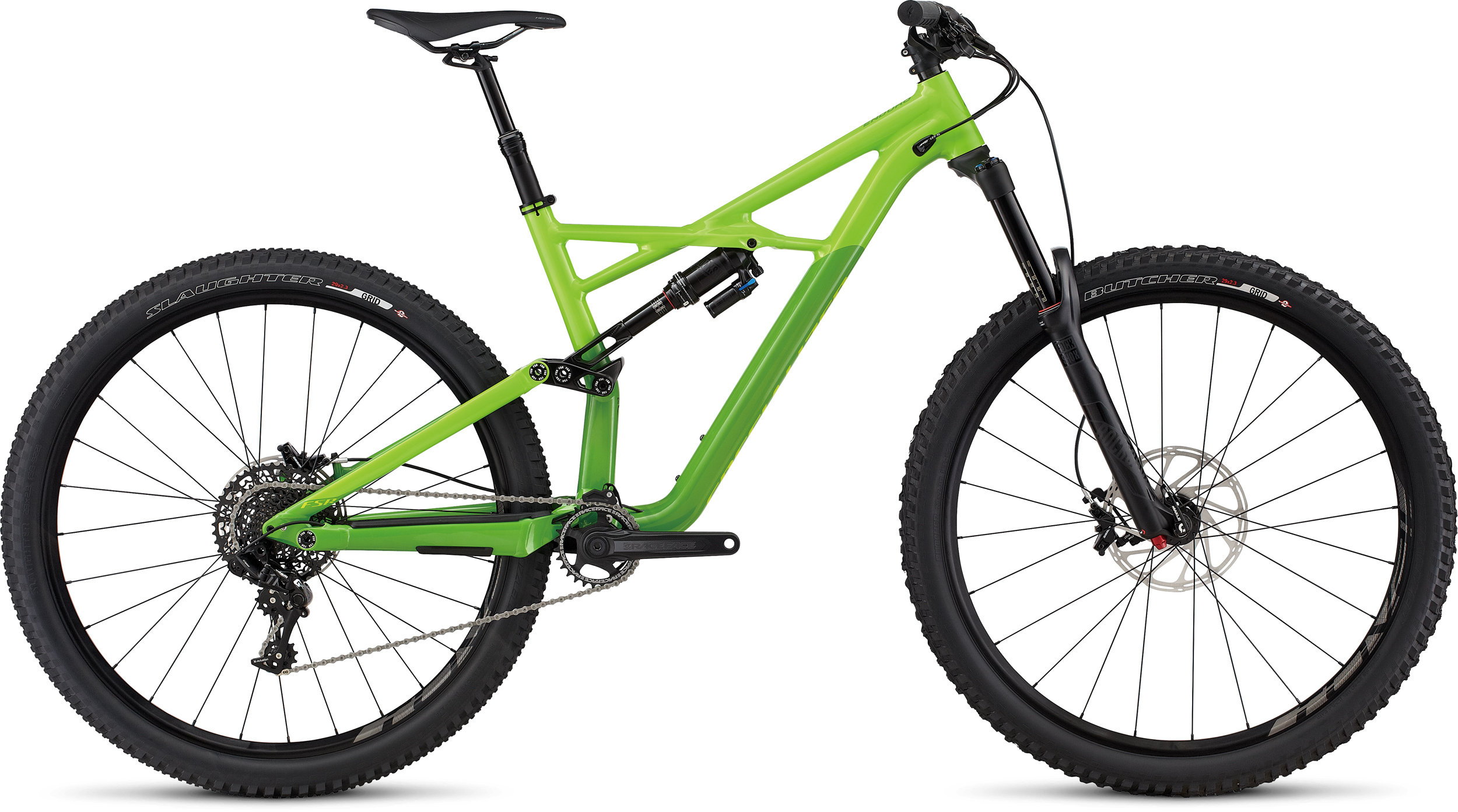 SPECIALIZED ENDURO FSR COMP 29/6FATTIE MXGRN/MONGRN/HYP L - Bike Zone