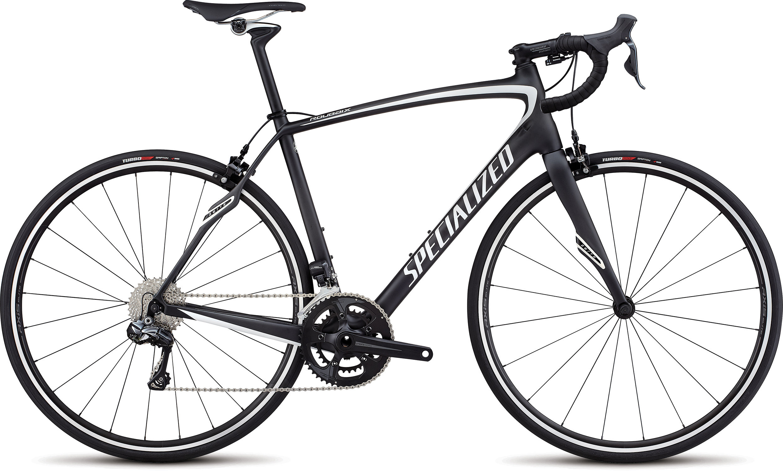 Specialized Roubaix SL4 Comp Di2 CARBON/METALLIC WHITE SILVER 56 - Alpha Bikes