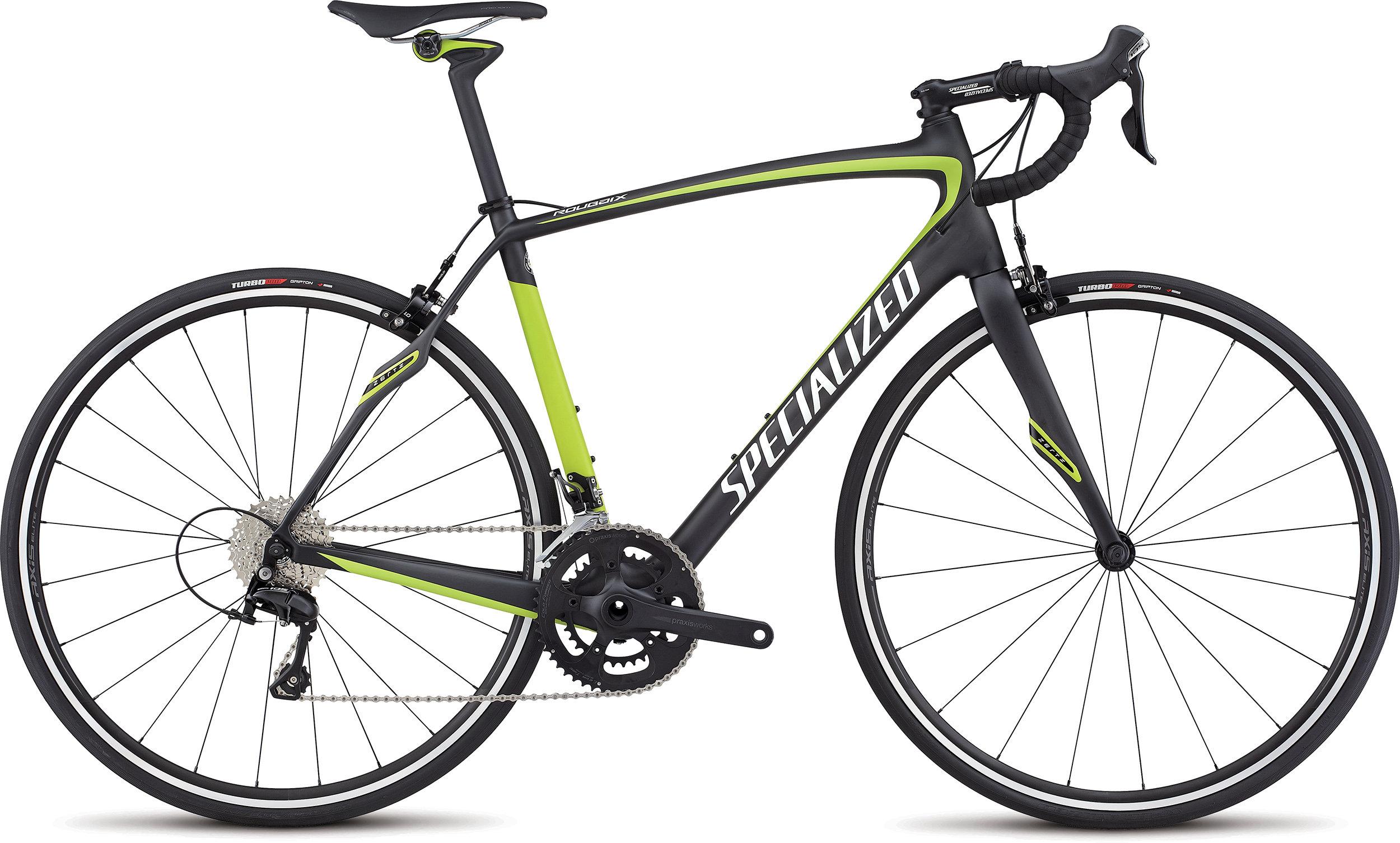 SPECIALIZED ROUBAIX SL4 SPORT RIM CARB/HYP/METWHTSIL 61 - Bike Maniac