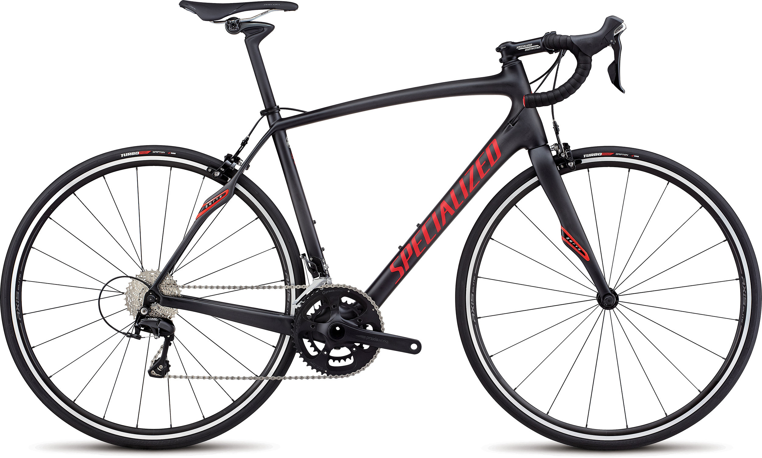 Specialized Roubaix SL4 Sport Satin Carbon/Flo Red/Clean 56 - Alpha Bikes
