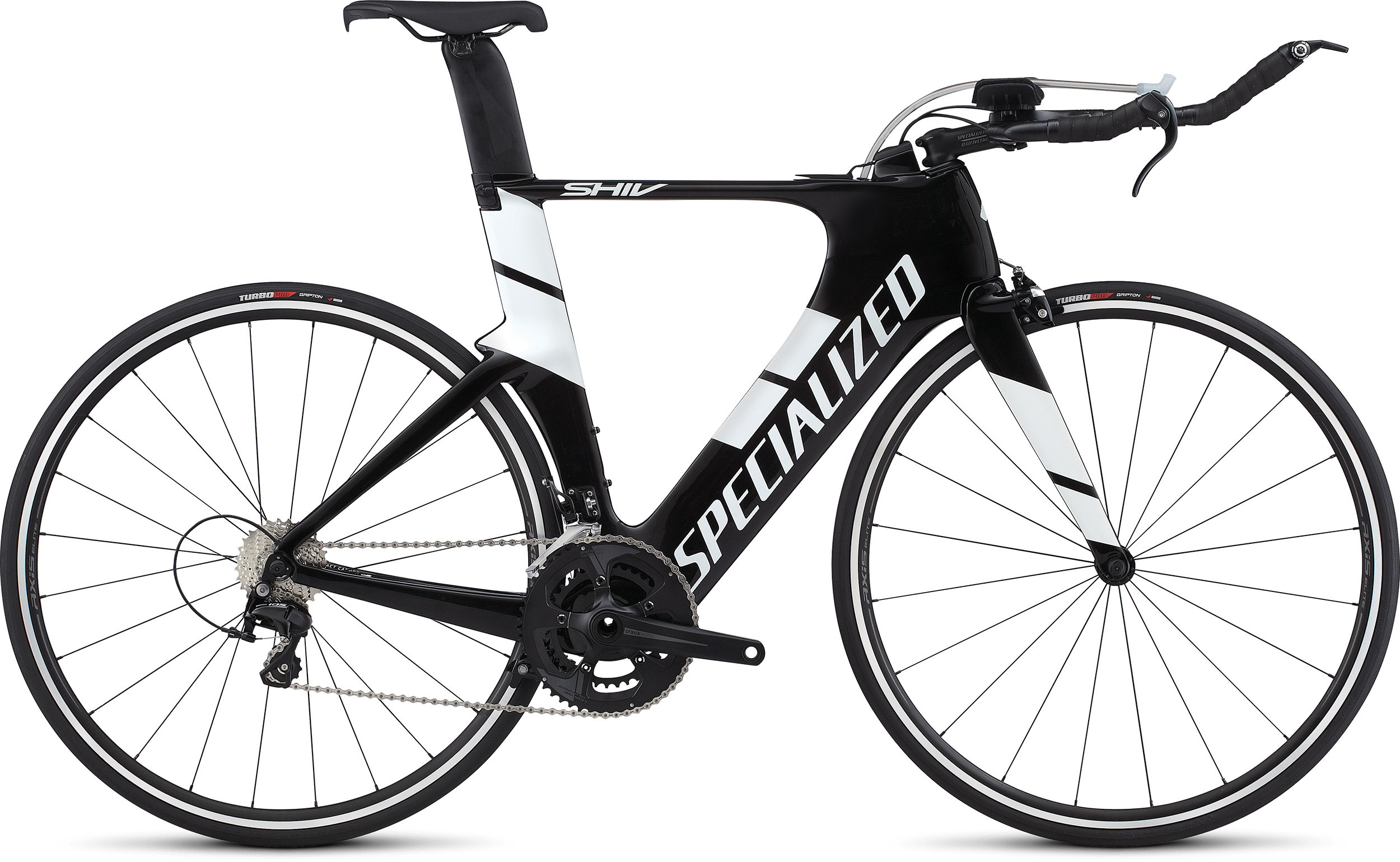 Specialized Shiv Elite Carbon/ White L - Alpha Bikes