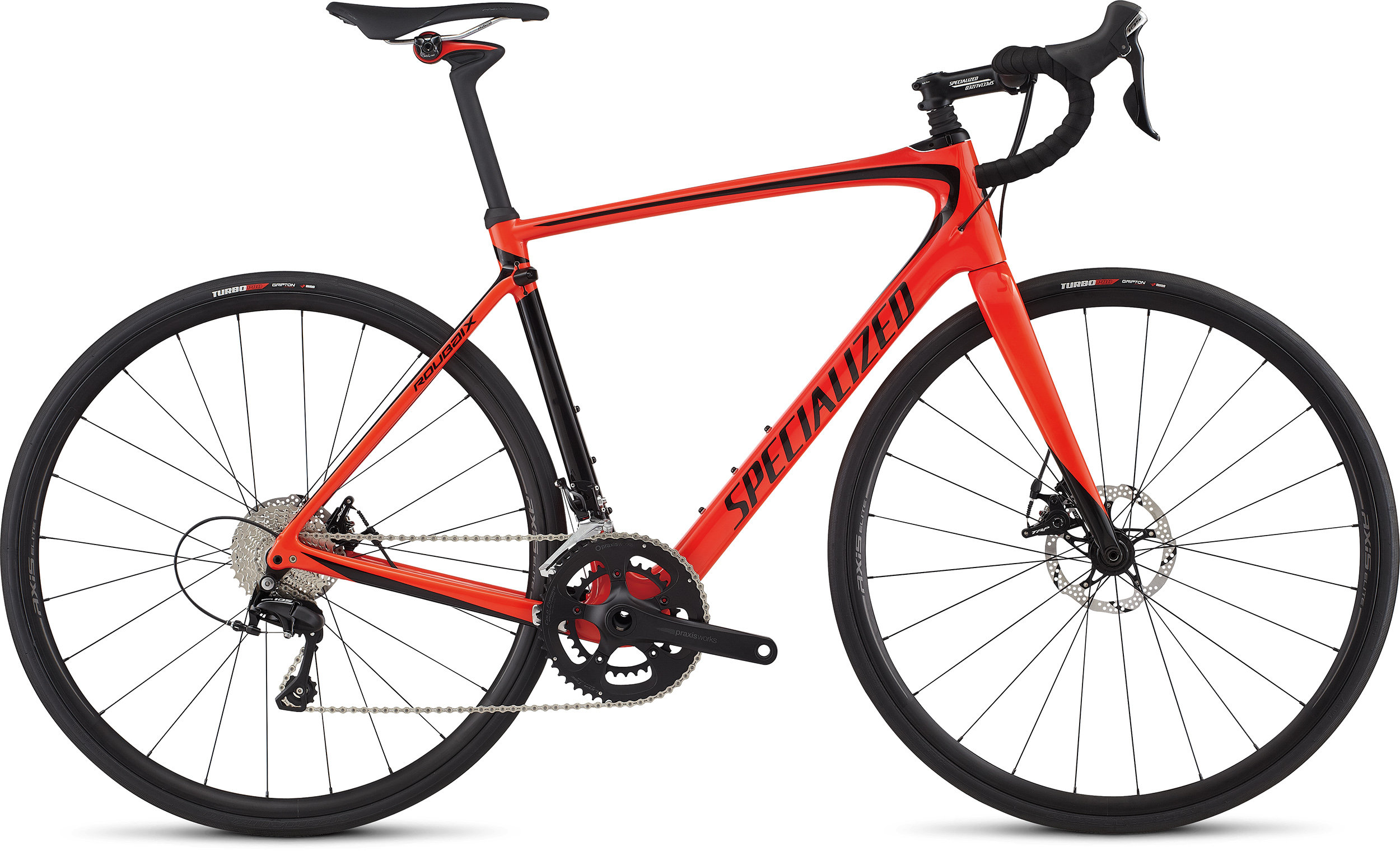 SPECIALIZED ROUBAIX ELITE NRDCRED/BLK 56 - Alpha Bikes