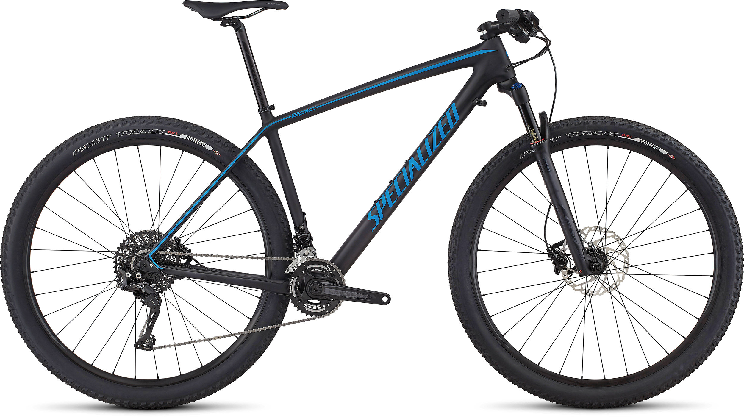 SPECIALIZED EPIC HT COMP CARBON 29 CARB/NENBLU L - Alpha Bikes