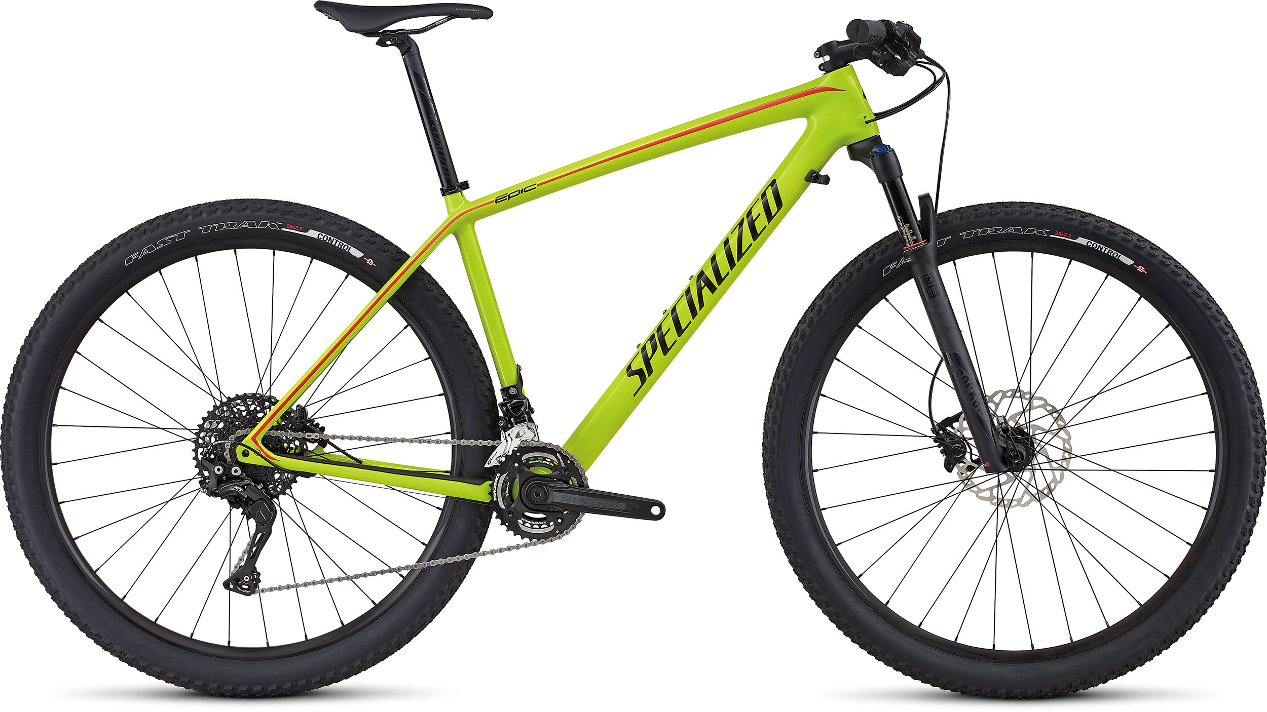 SPECIALIZED EPIC HT COMP CARBON 29 HYP/BLK/NRDCRED L - Alpha Bikes