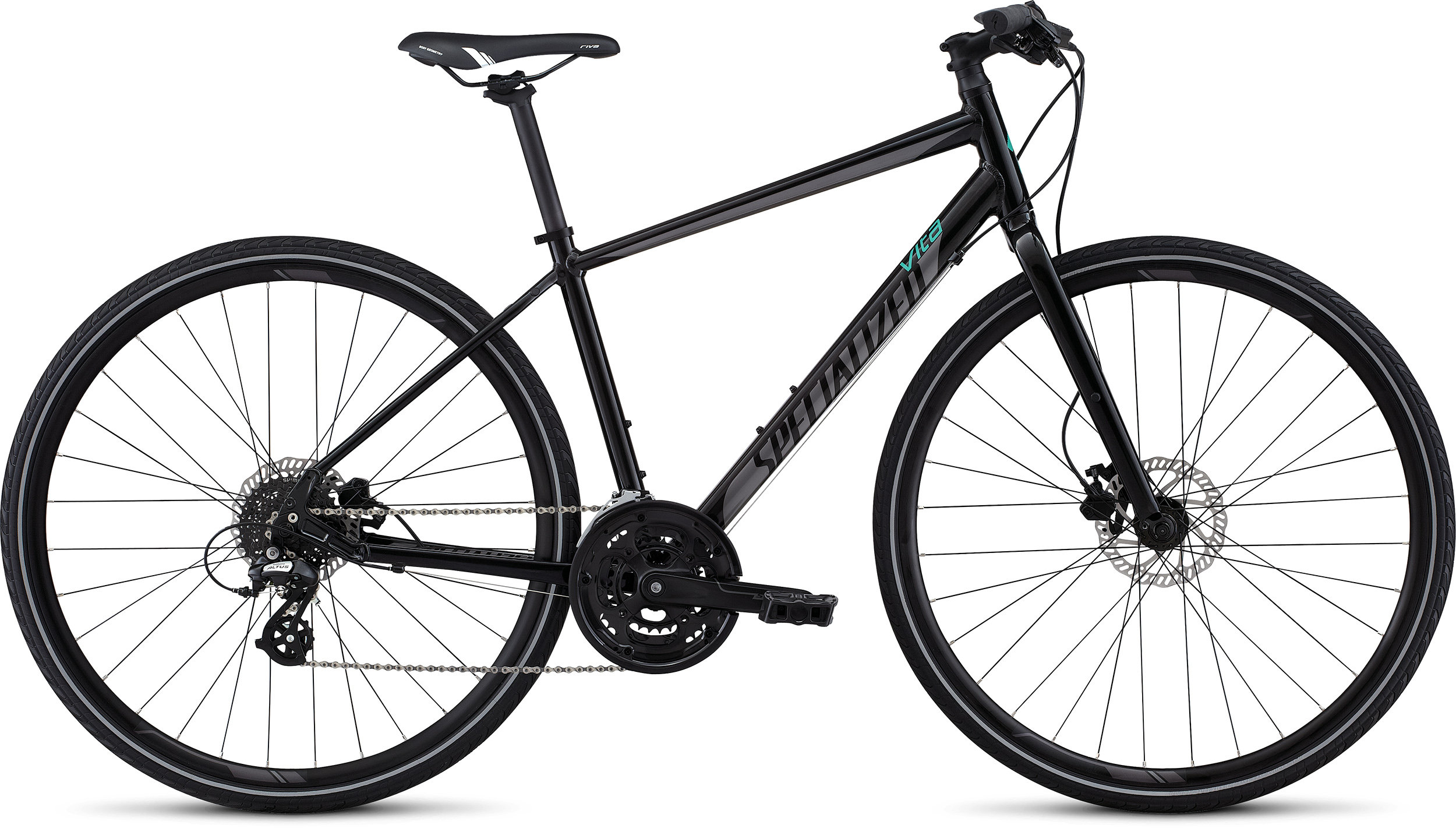 SPECIALIZED VITA DISC INT METBLK/DRMSIL/EMDGRN XS - Bikedreams & Dustbikes