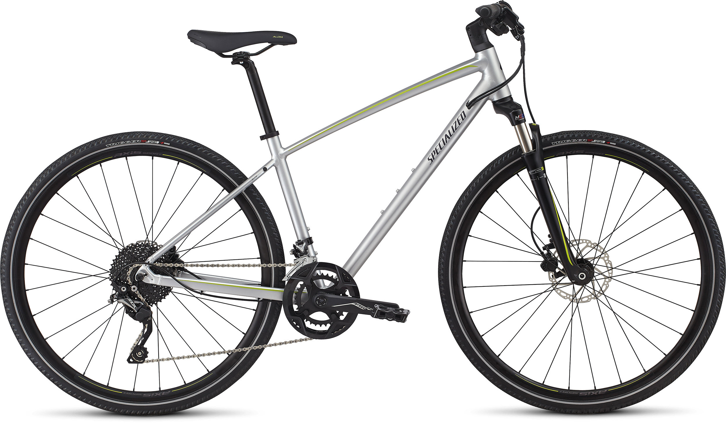SPECIALIZED ARIEL ELITE INT FLKSIL/HYP/DPNDGO L - Bike Zone