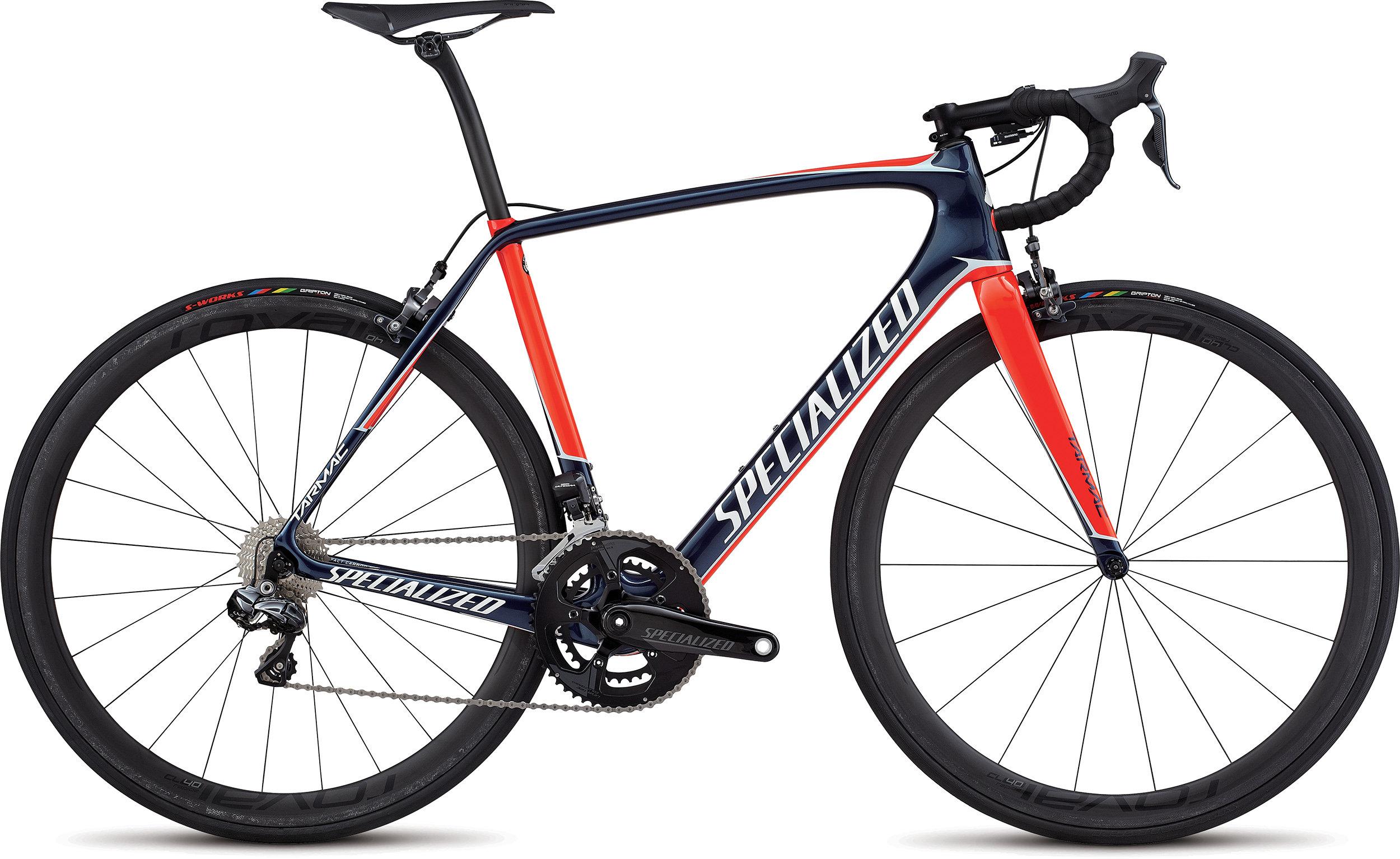 SPECIALIZED TARMAC PRO UDI2 NVY/BBYBLU/RKTRED 49 - Bike Maniac