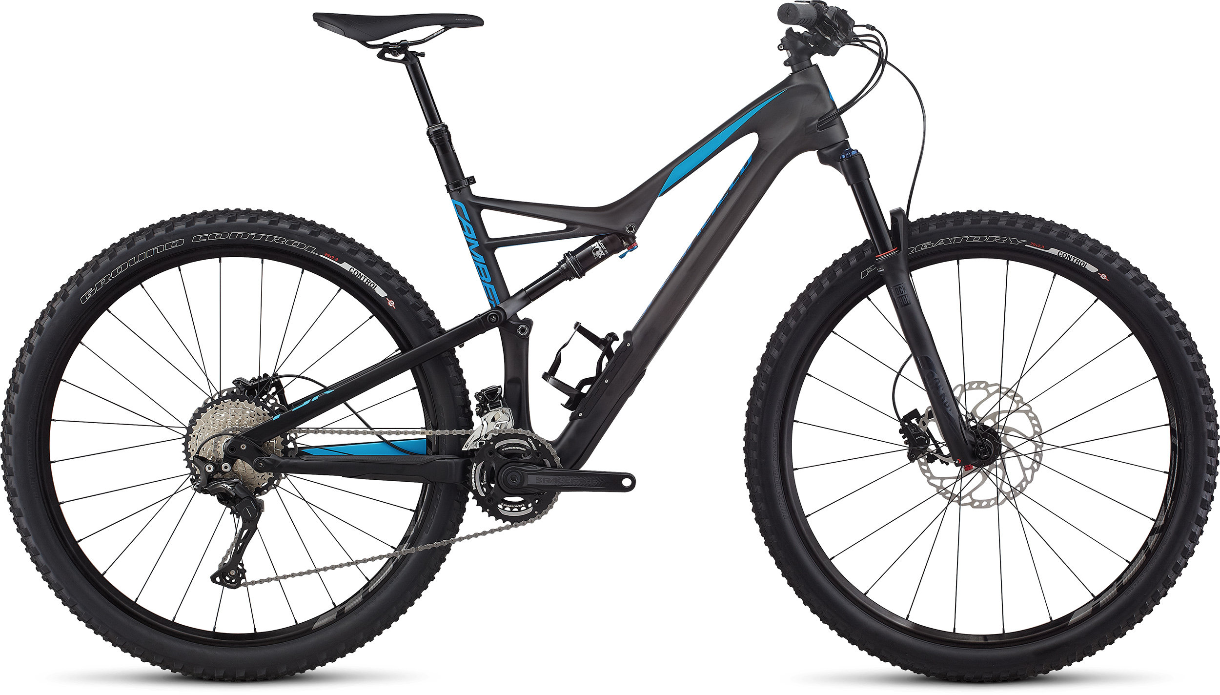 SPECIALIZED CAMBER FSR COMP CARBON 29 X2 CARB/NENBLU XL - Pulsschlag Bike+Sport