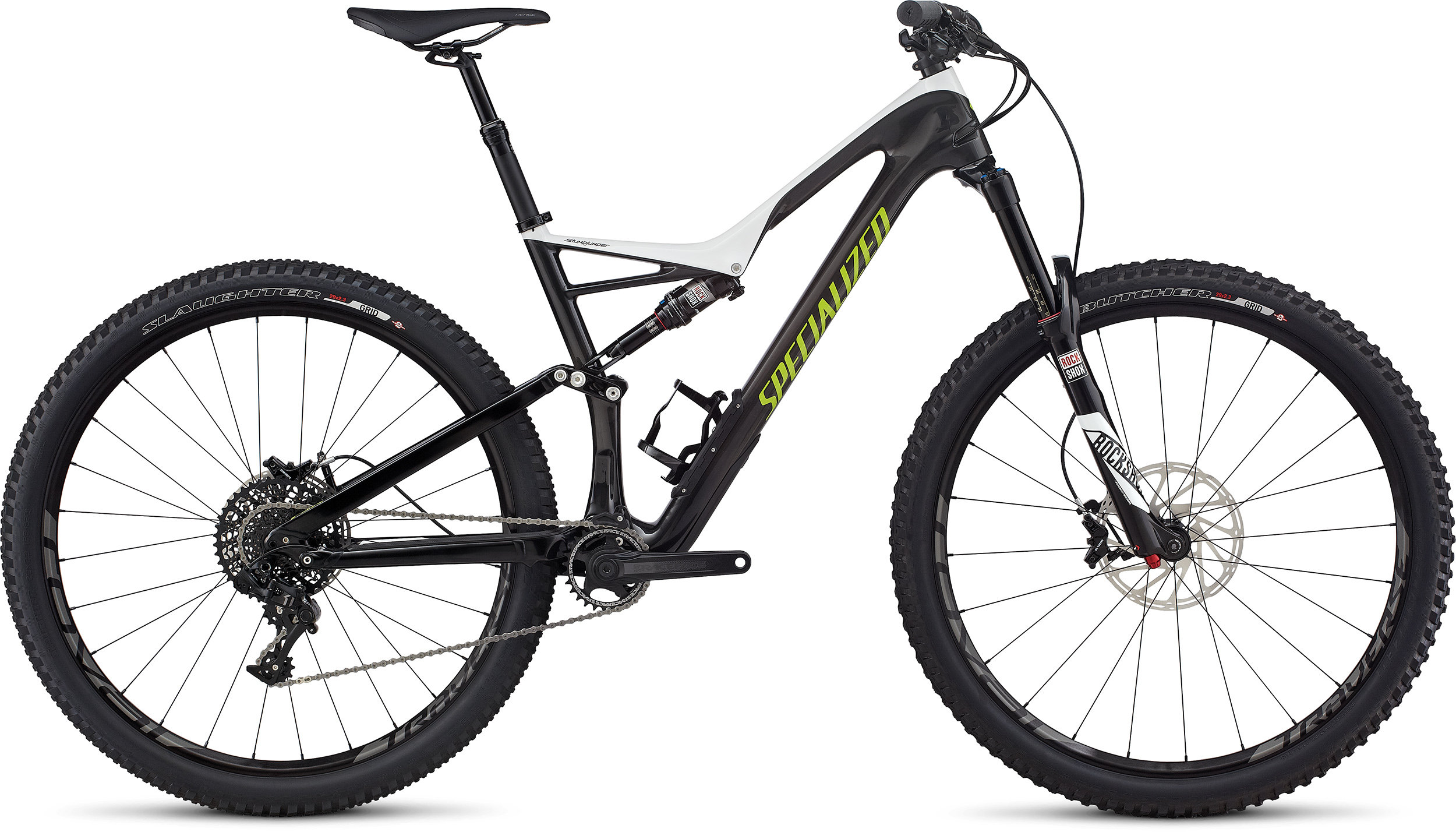 SPECIALIZED SJ FSR EXPERT CARBON 29 WHT/CARB/HYP L - Bike Zone