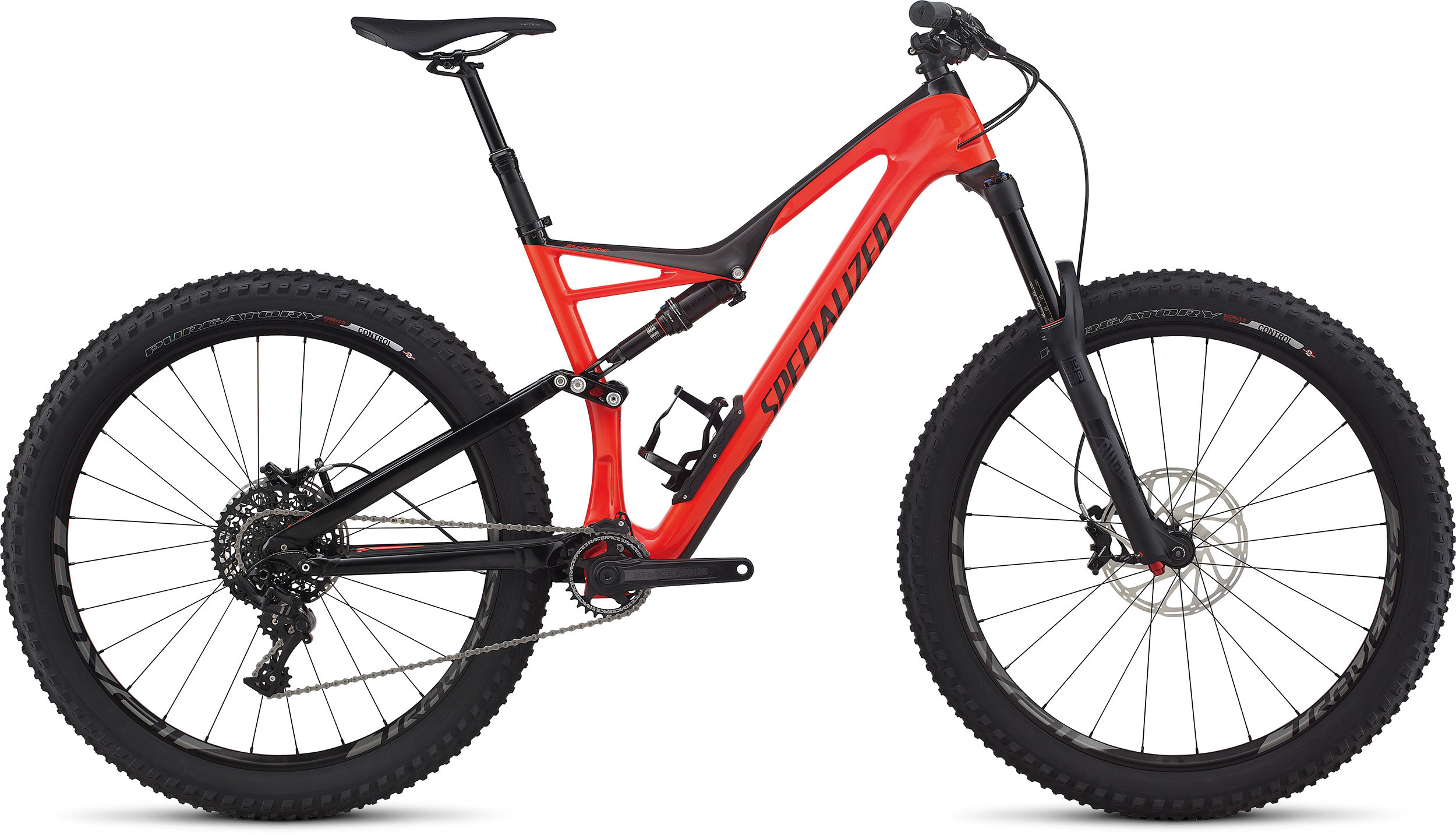 SPECIALIZED SJ FSR EXPERT CARBON 6FATTIE RKTRED/BLK L - Pulsschlag Bike+Sport