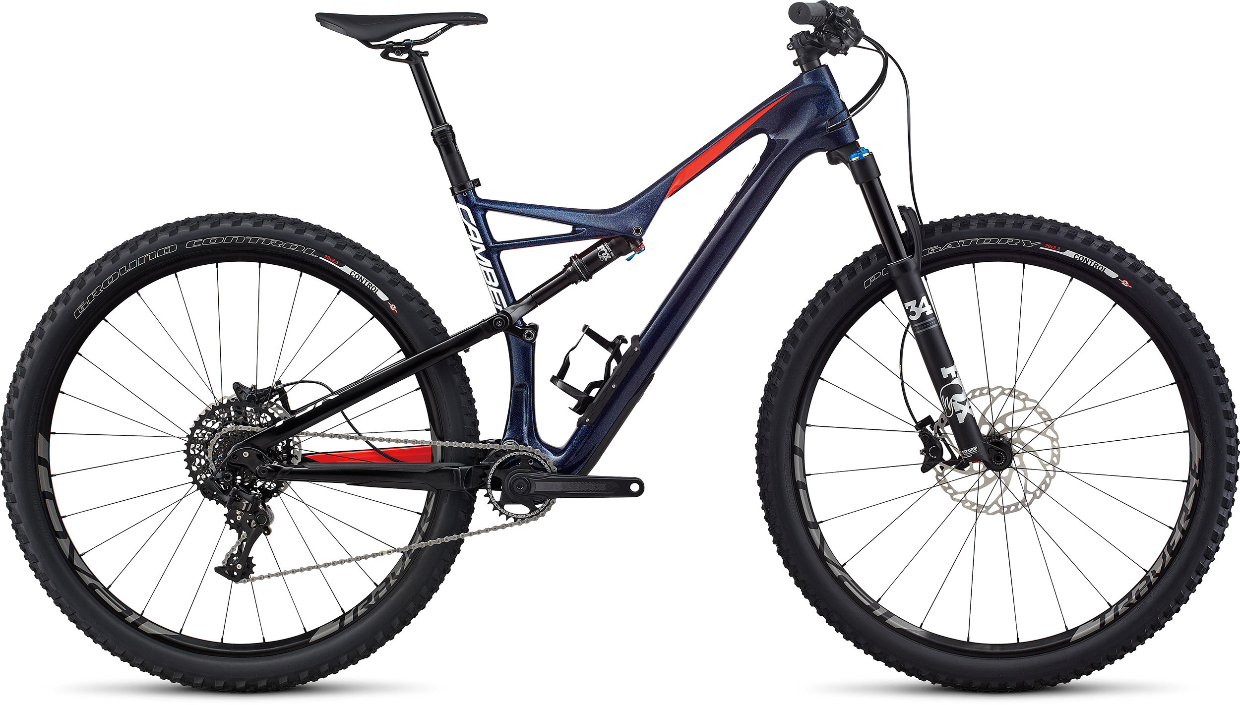 SPECIALIZED CAMBER FSR EXPERT CARBON 29 NBLBLU/NRDCRED/METWHT S - Randen Bike GmbH