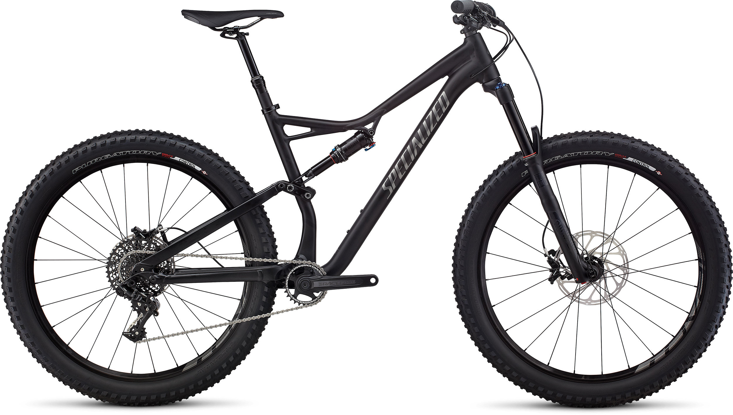 SPECIALIZED SJ FSR COMP 6FATTIE BLK/CHAR L - Bike Zone