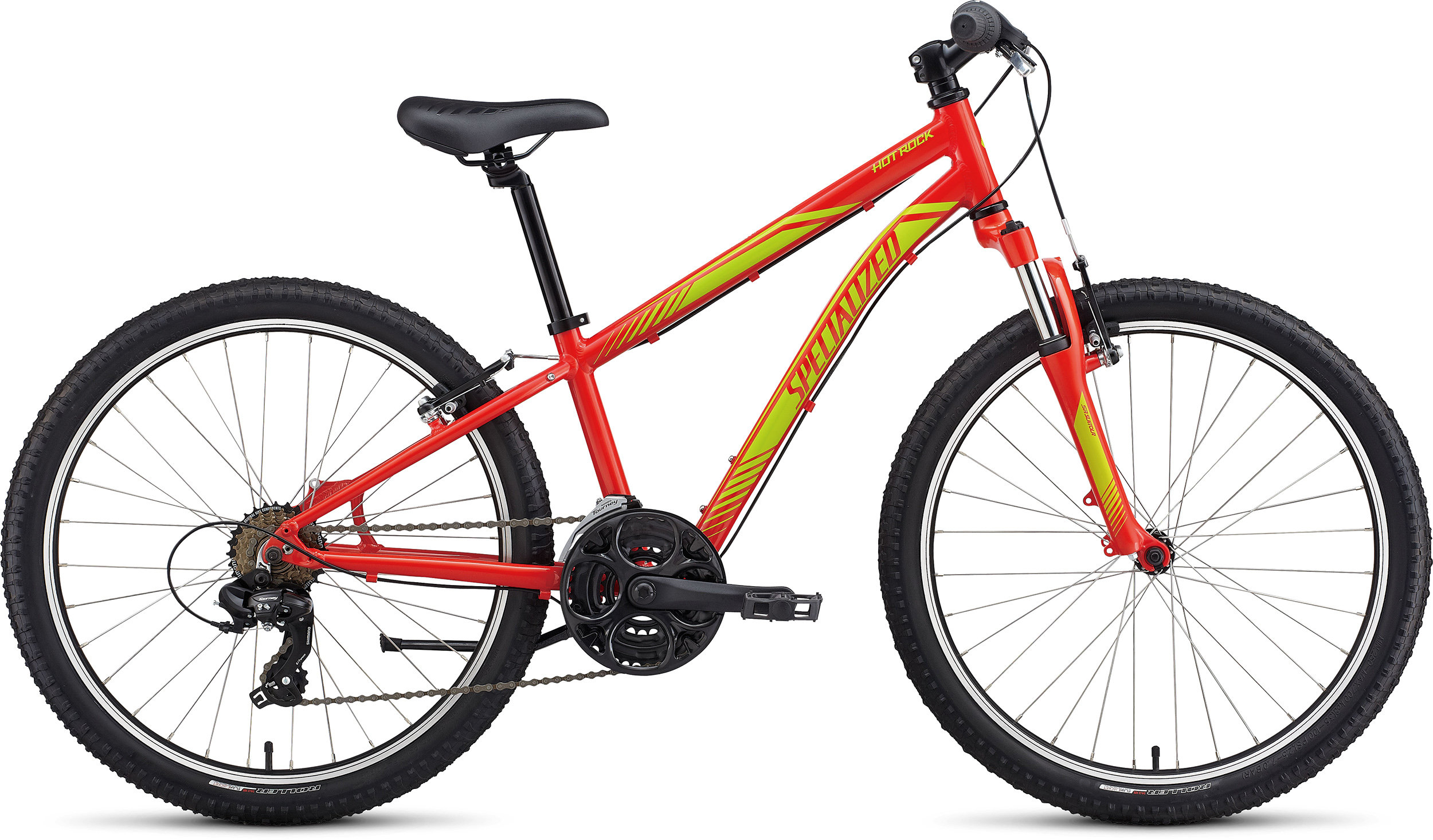 Specialized Boy´s 21-Speed Hotrock 24 Nordic Red/Hyper Green 11 - Pulsschlag Bike+Sport