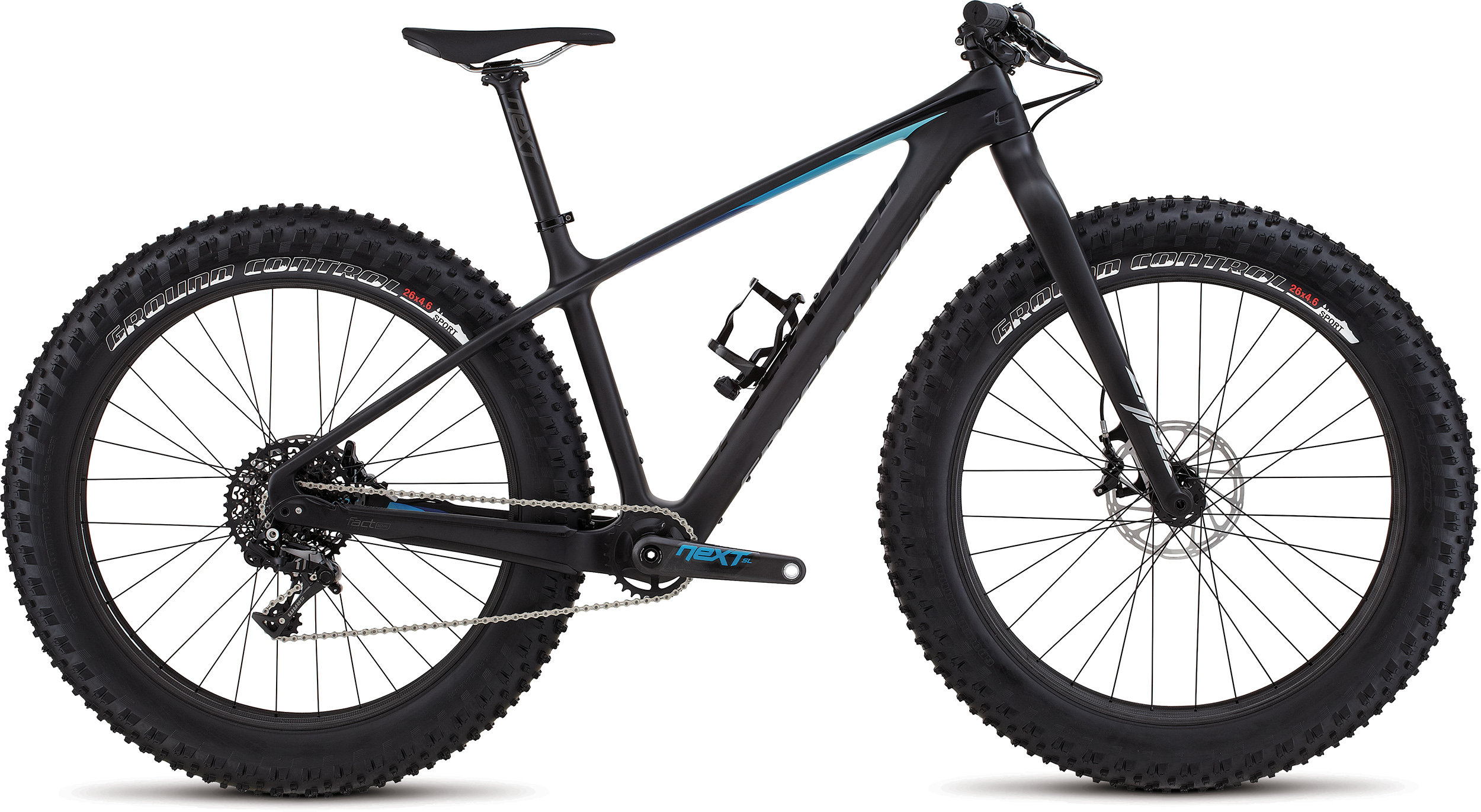 SPECIALIZED FATBOY EXPERT CARBON CARB/BLK/BLU S - Bike Maniac