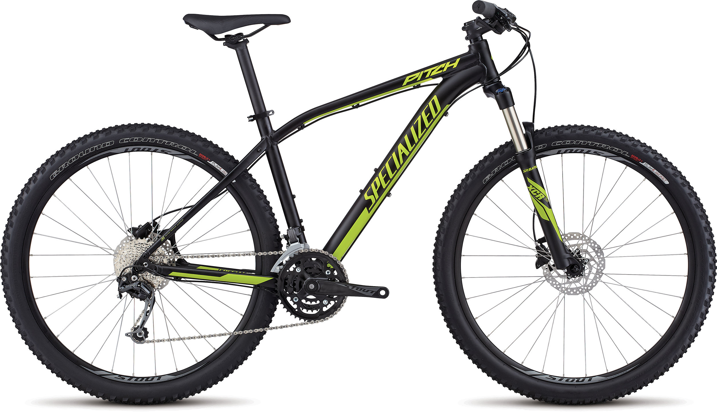 SPECIALIZED PITCH COMP 650B BLK/HYP L - Bike Zone