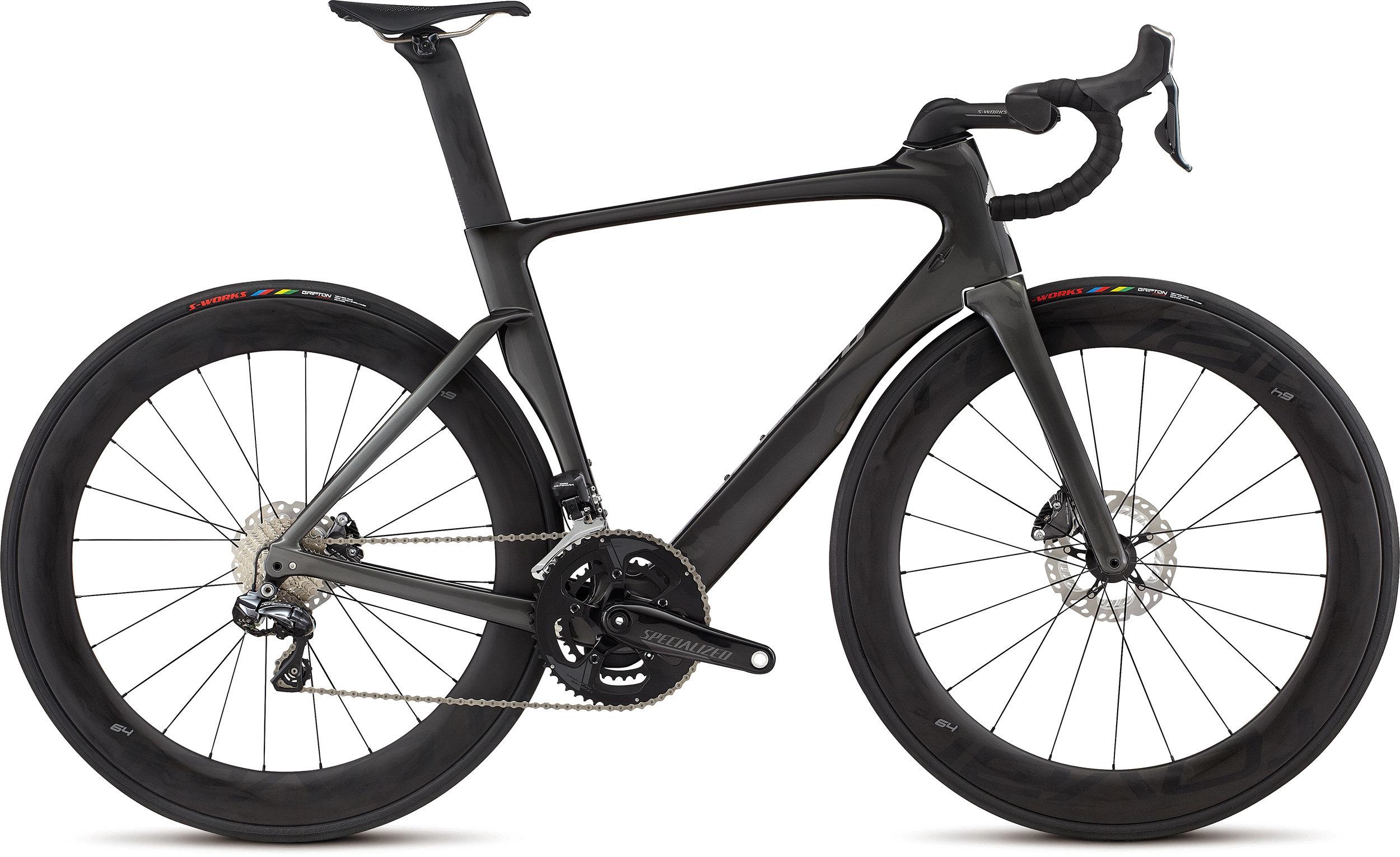 SPECIALIZED VENGE PRO DISC VIAS UDI2 TARBLK/CHAR 56 - Alpha Bikes