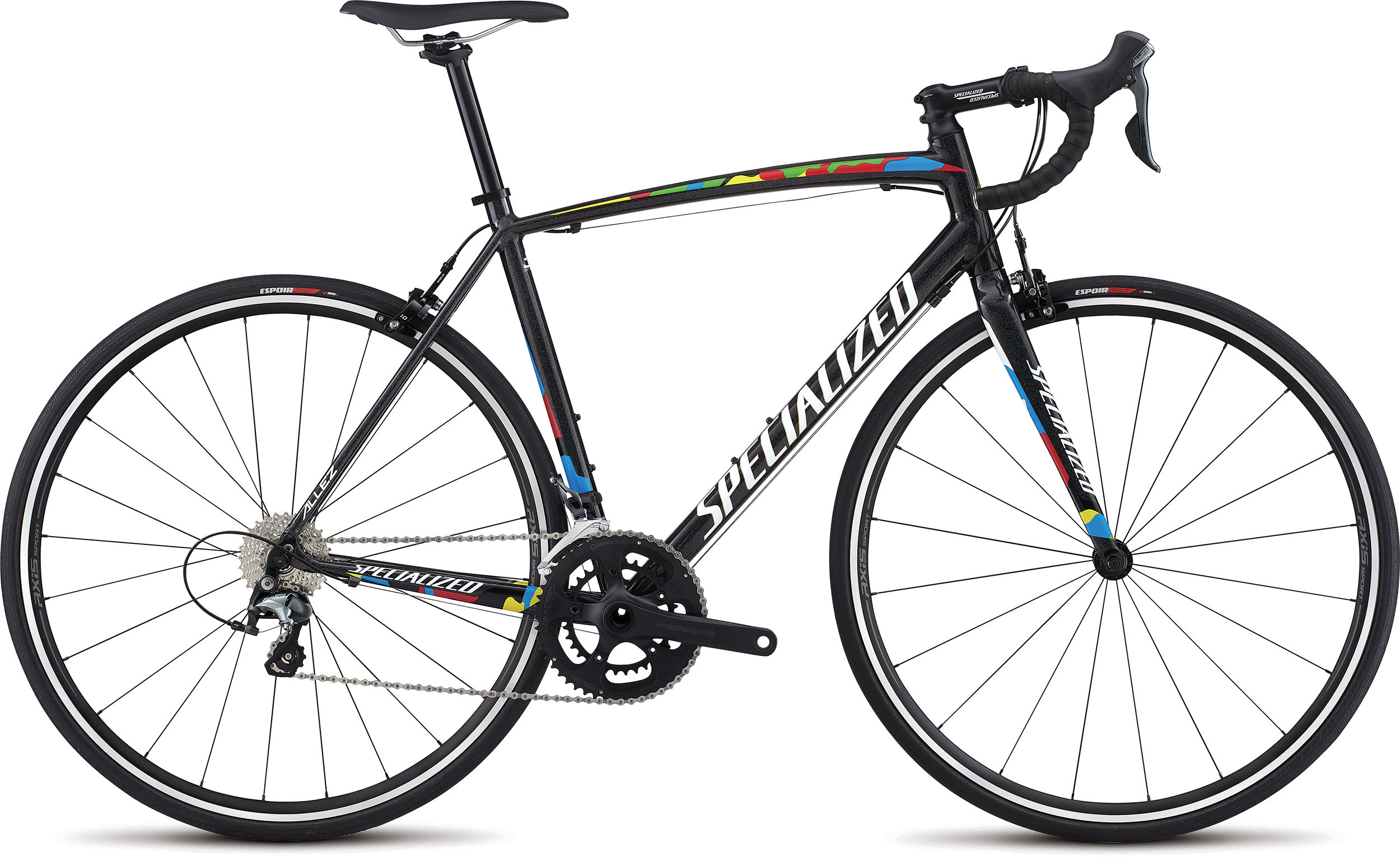 SPECIALIZED ALLEZ E5 ELITE SAGAN WC 52 - SPECIALIZED ALLEZ E5 ELITE SAGAN WC 52