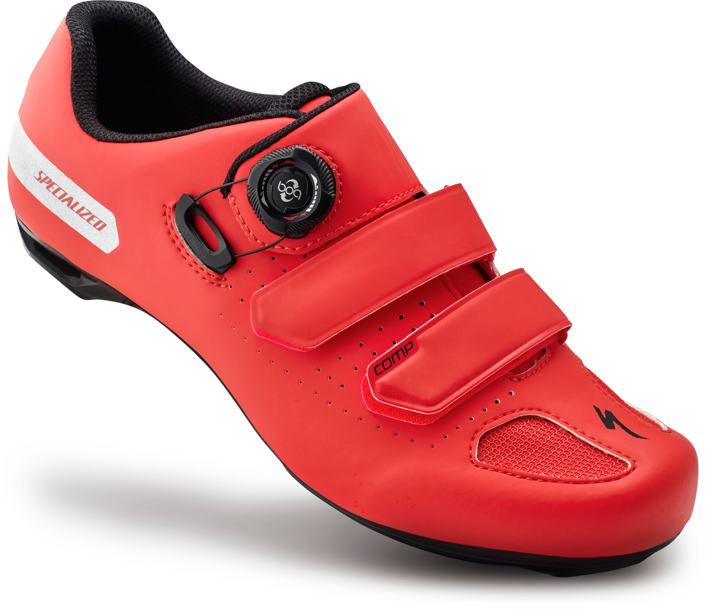 SPECIALIZED COMP RD SHOE RKTRED 41/8 - Alpha Bikes